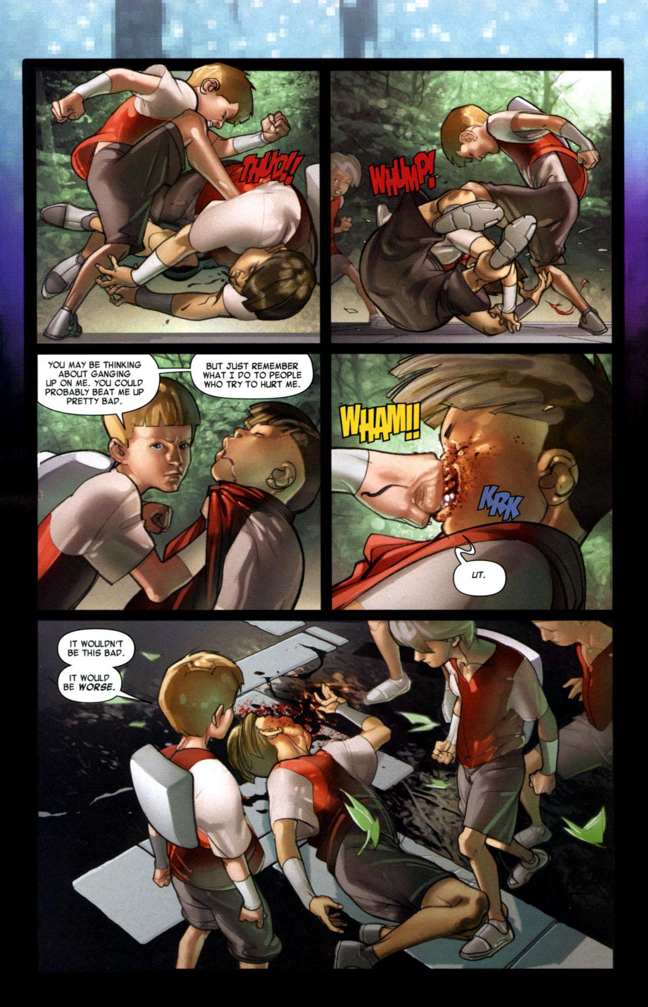 Read online Ender's Game: Battle School comic -  Issue #1 - 11