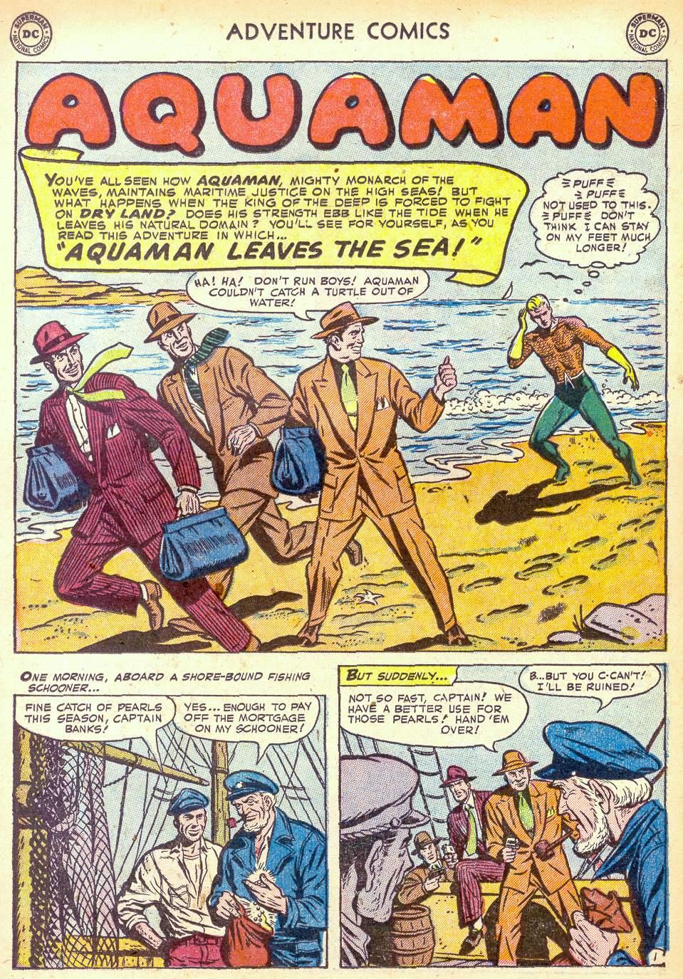 Read online Adventure Comics (1938) comic -  Issue #172 - 17
