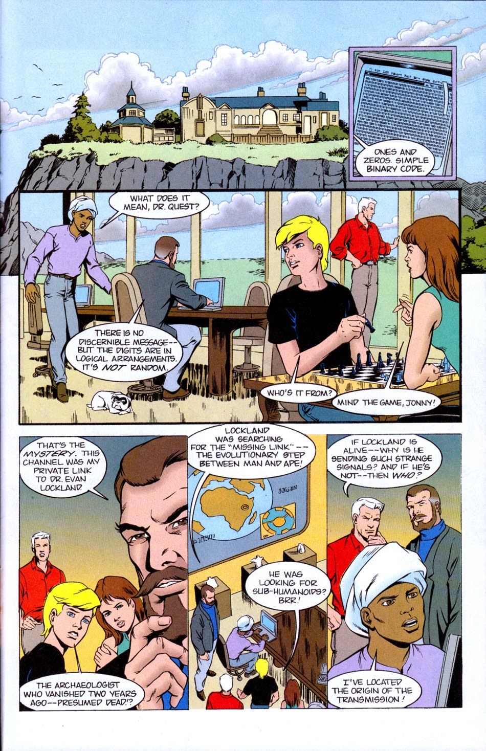 Read online The Real Adventures of Jonny Quest comic -  Issue #5 - 23