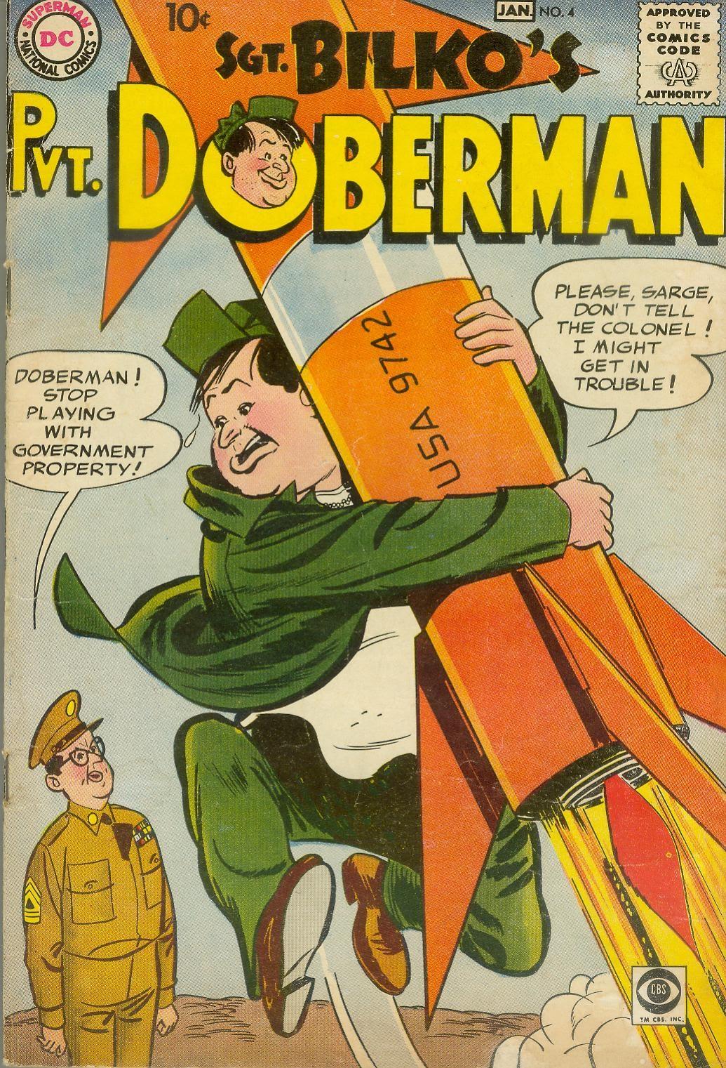 Sgt. Bilko's Pvt. Doberman issue 4 - Page 1