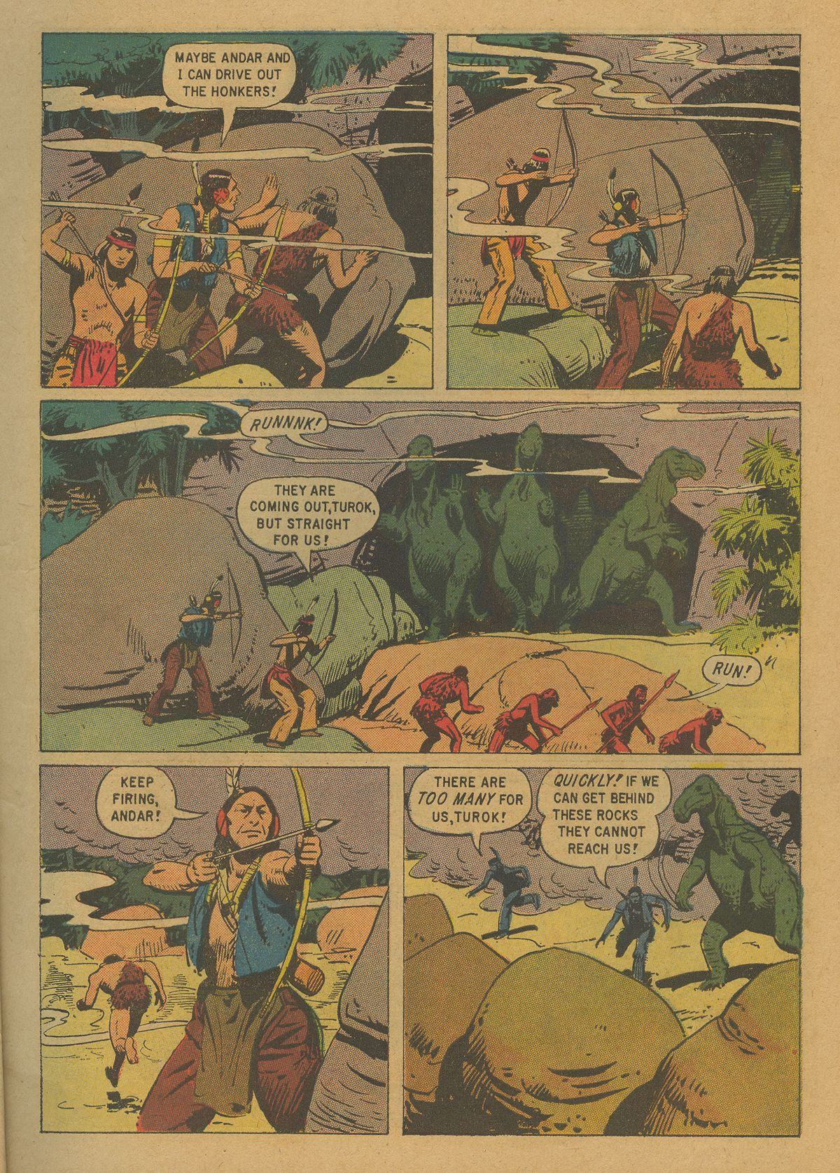 Read online Turok, Son of Stone comic -  Issue #20 - 7