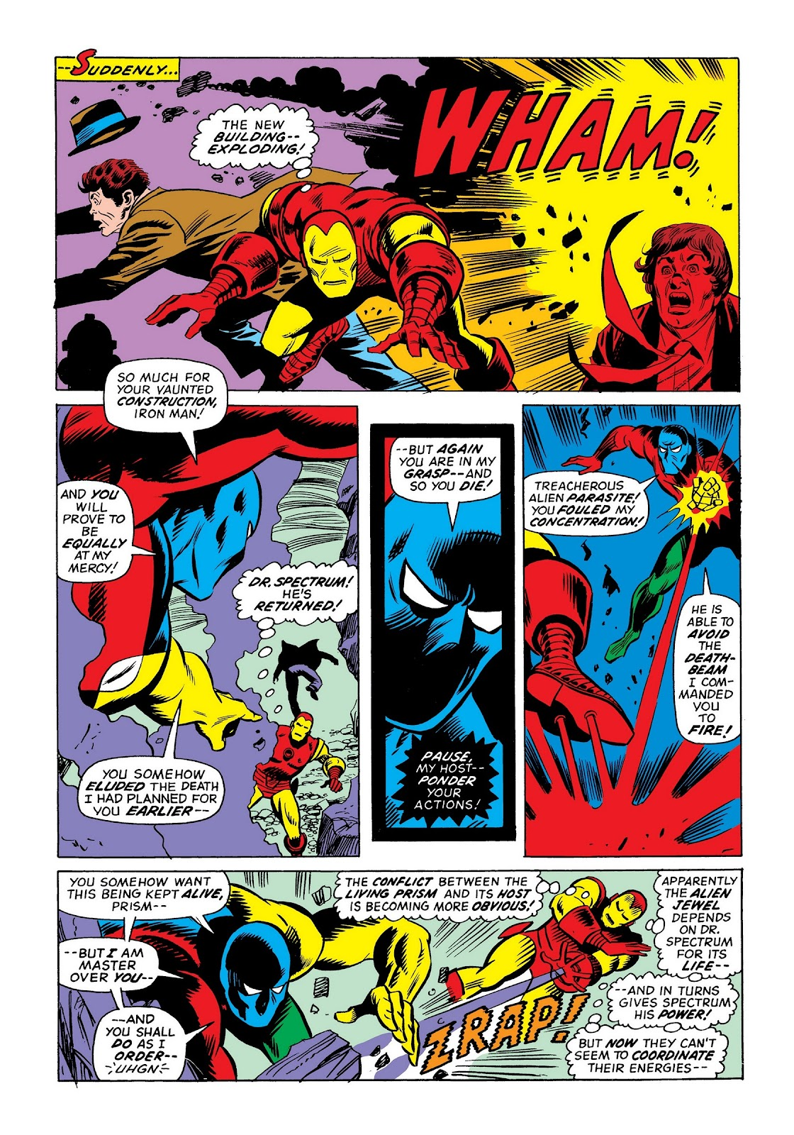 Read online Marvel Masterworks: The Invincible Iron Man comic -  Issue # TPB 9 (Part 3) - 19