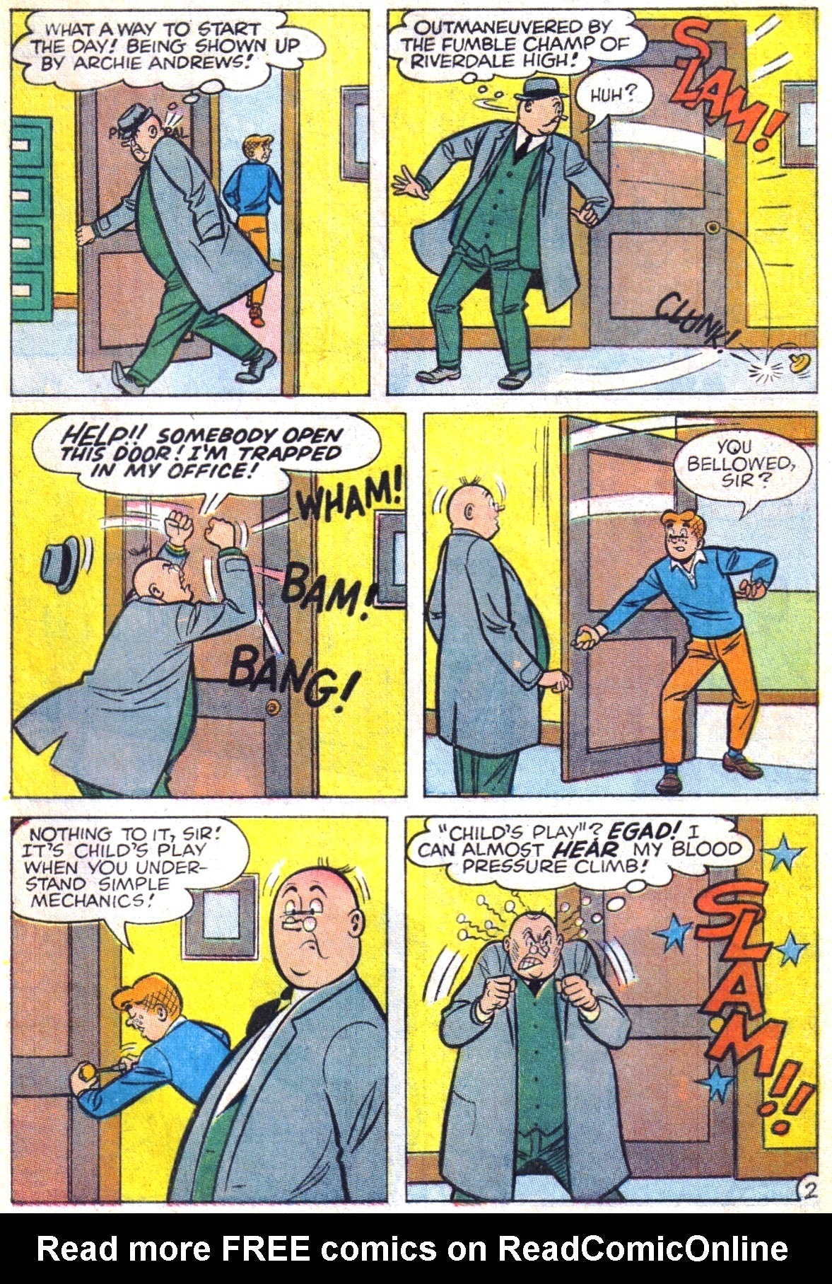 Read online Archie (1960) comic -  Issue #169 - 29