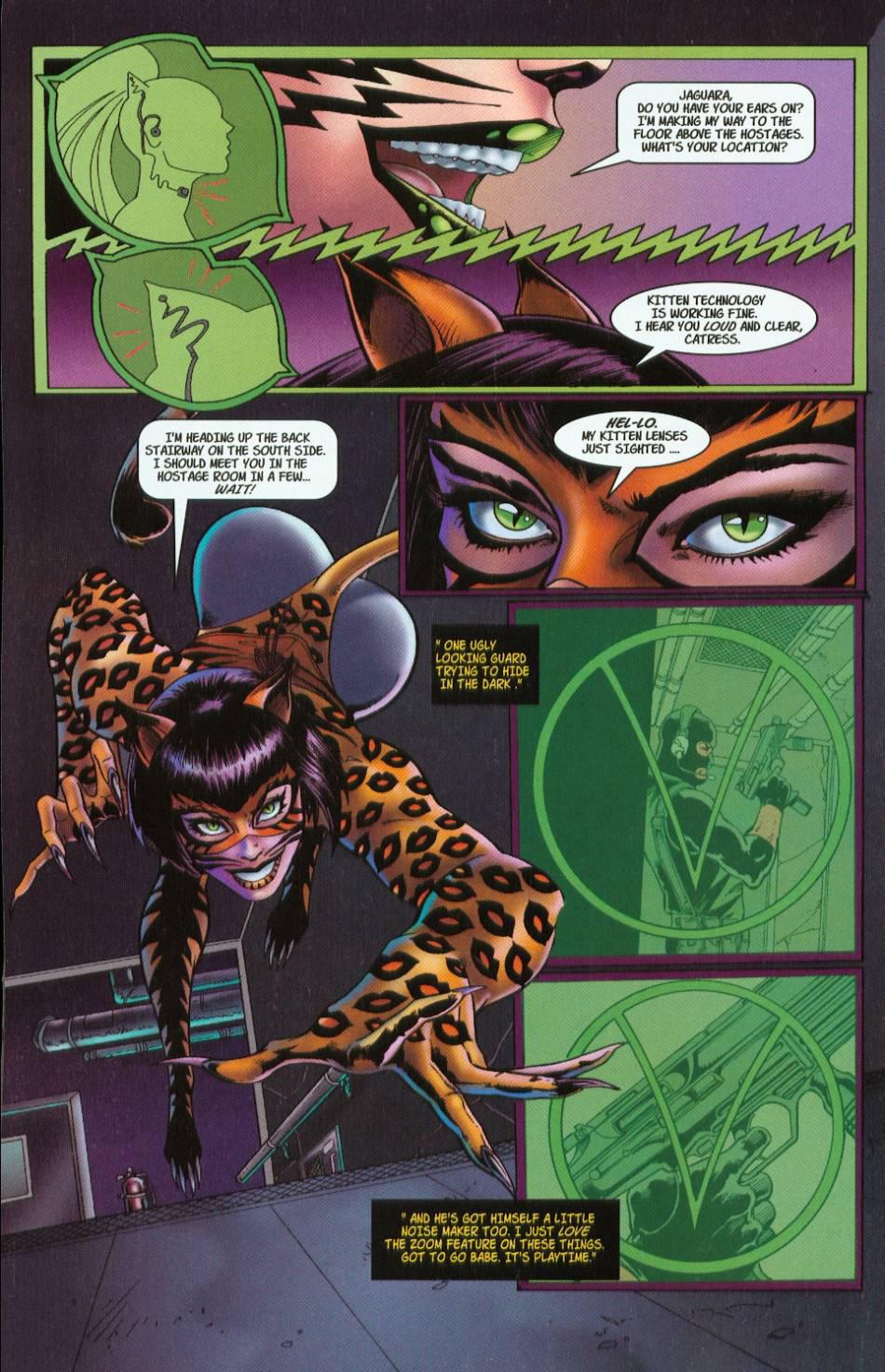 Read online 3 Little Kittens: Purrr-fect Weapons comic -  Issue #1 - 8