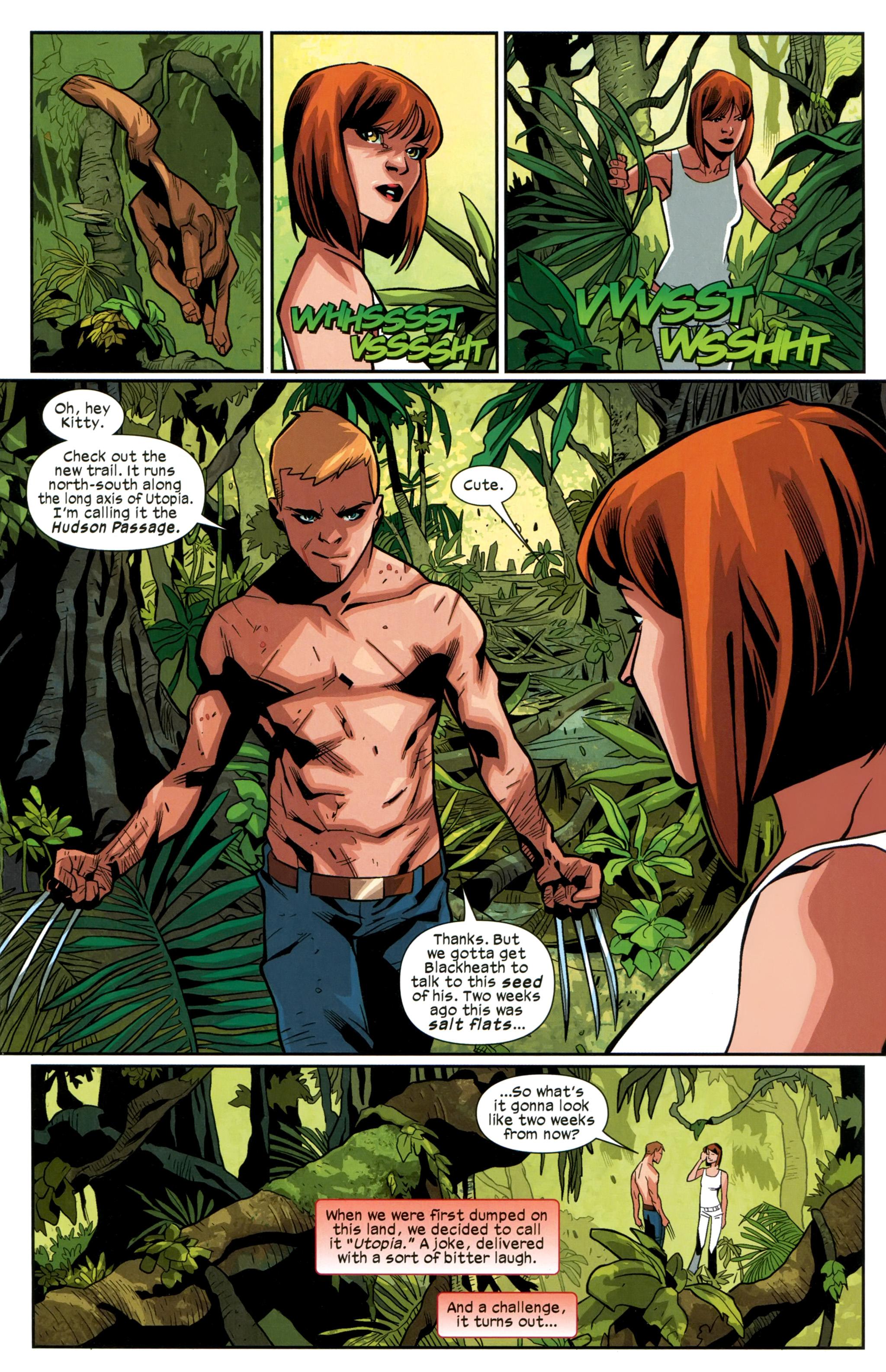 Read online Ultimate Comics X-Men comic -  Issue #24 - 6