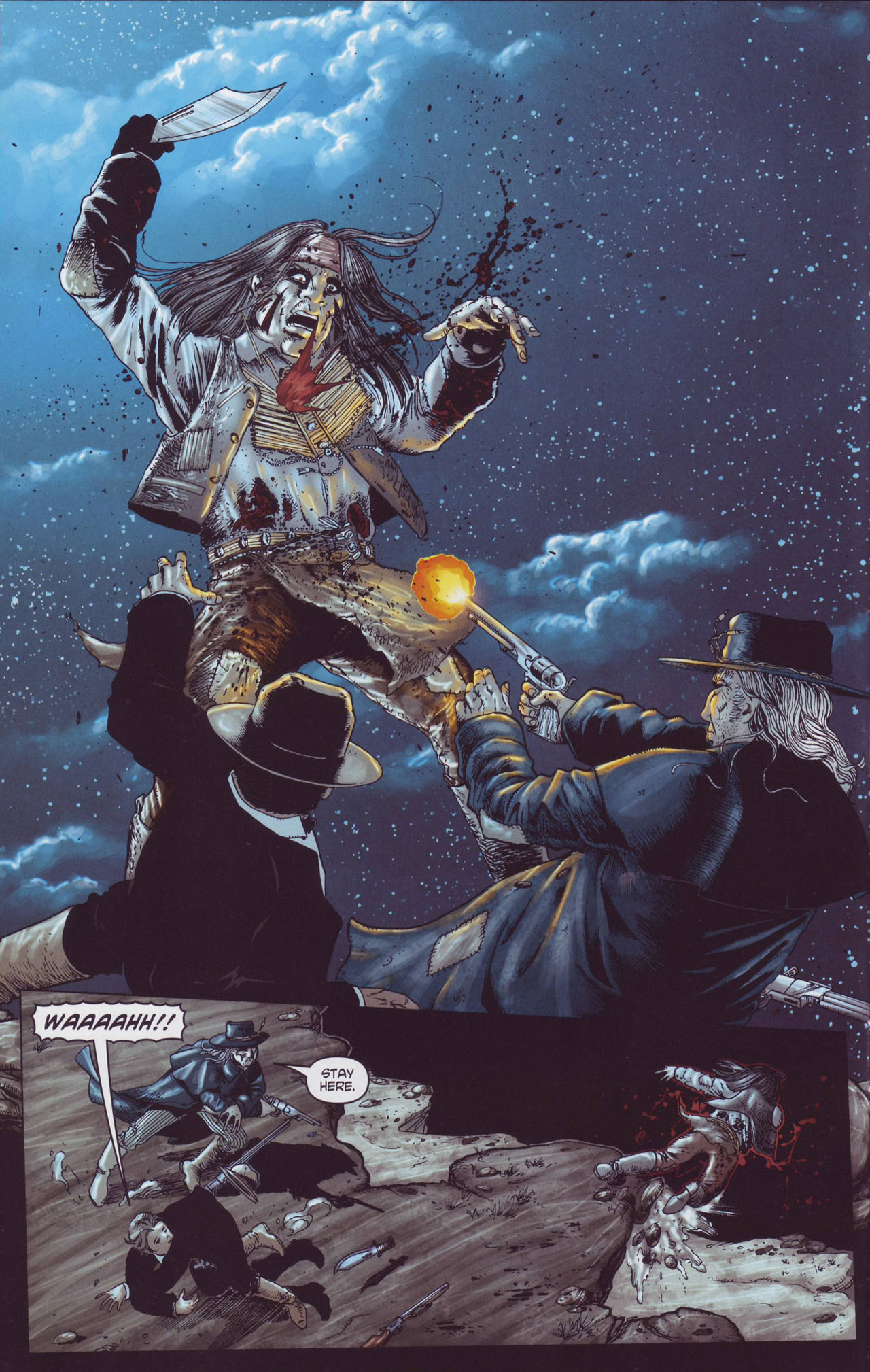 Read online Garth Ennis' Streets of Glory comic -  Issue #4 - 14