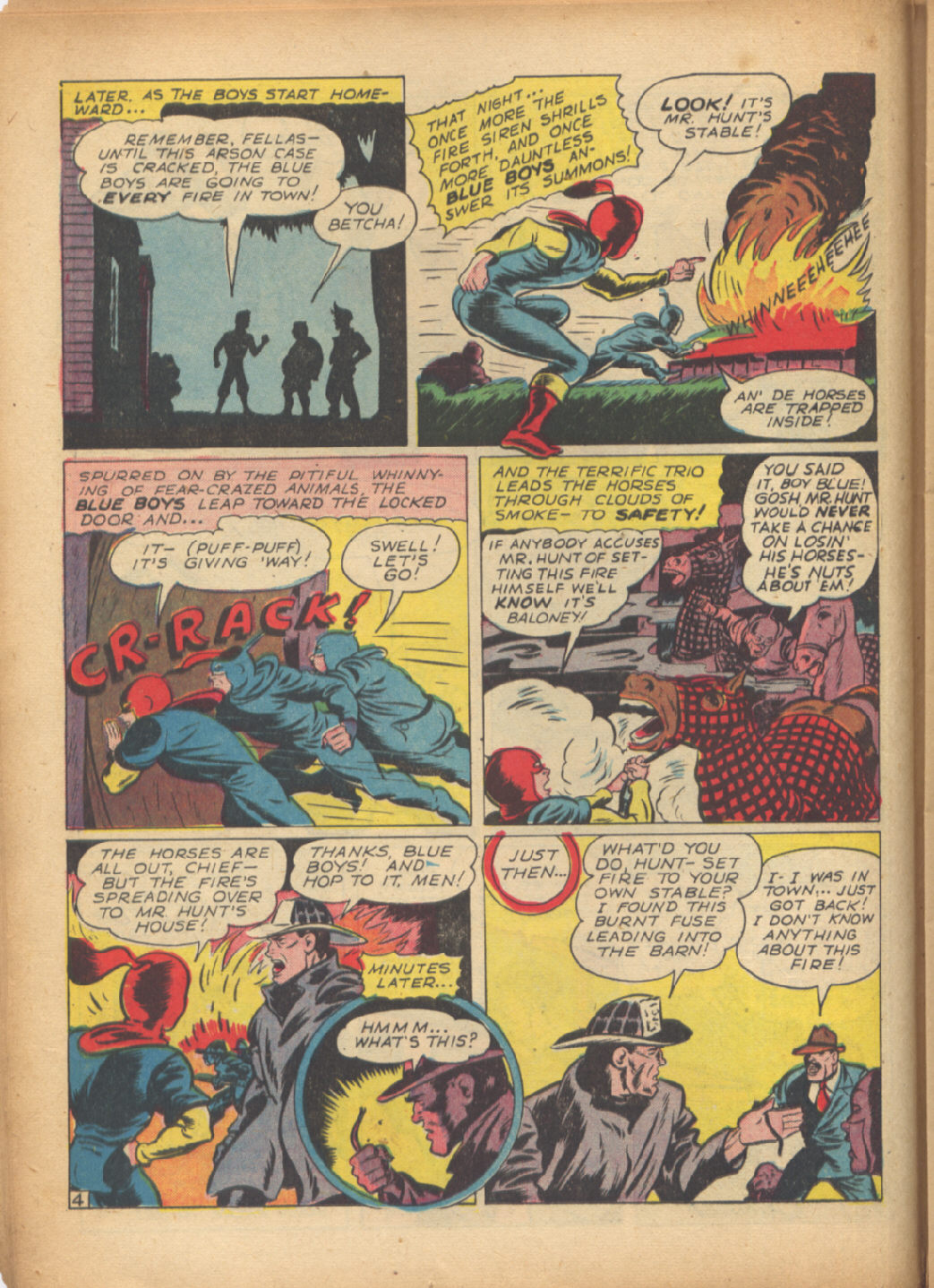 Read online Sensation (Mystery) Comics comic -  Issue #24 - 28
