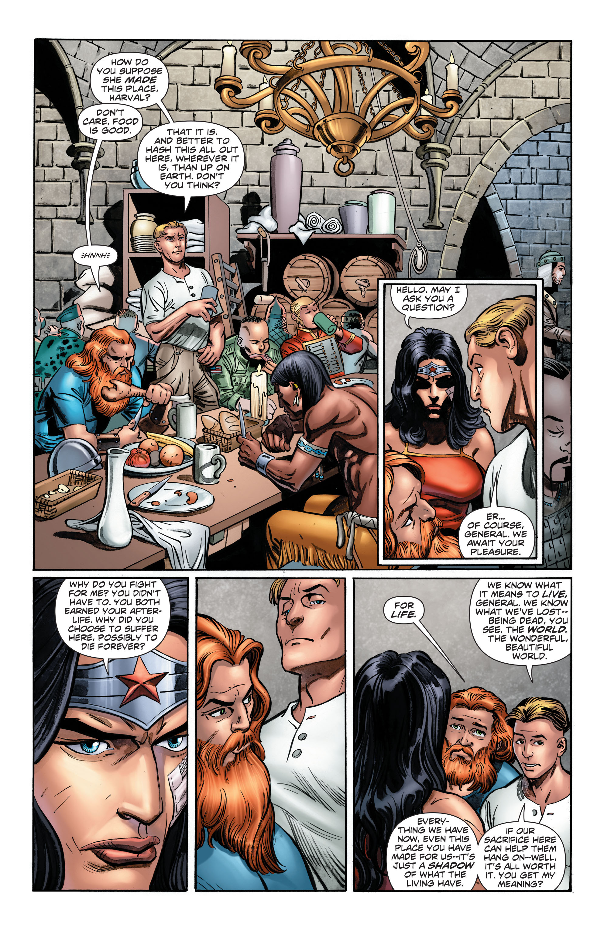 Read online Wonder Woman: Futures End comic -  Issue # Full - 17