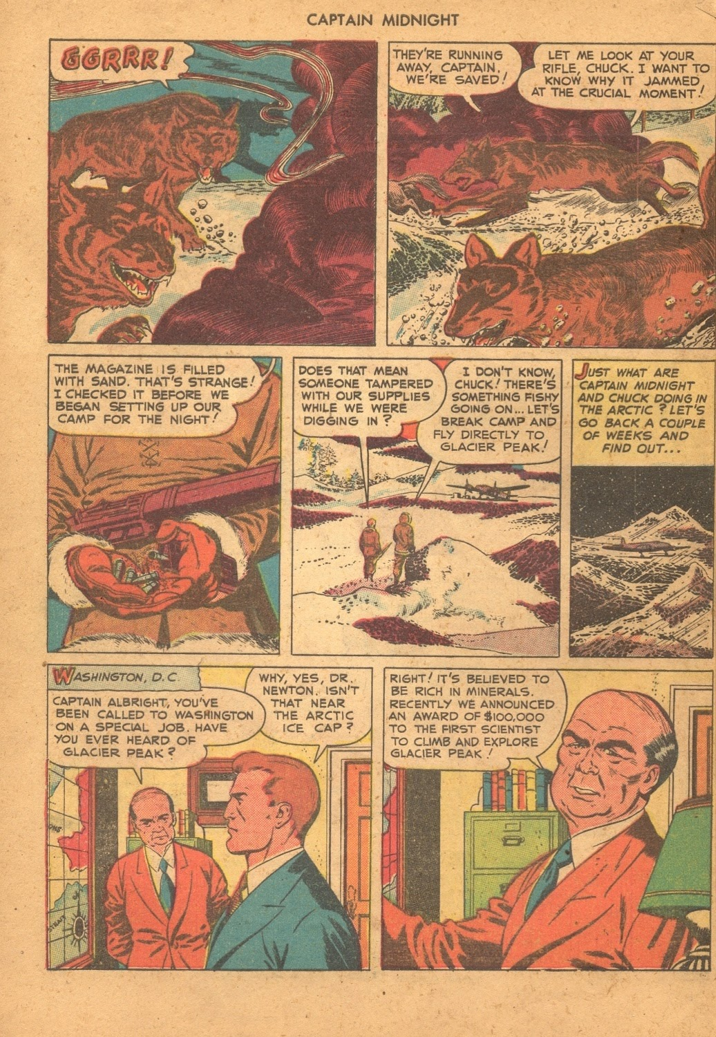 Captain Midnight (1942) issue 61 - Page 4