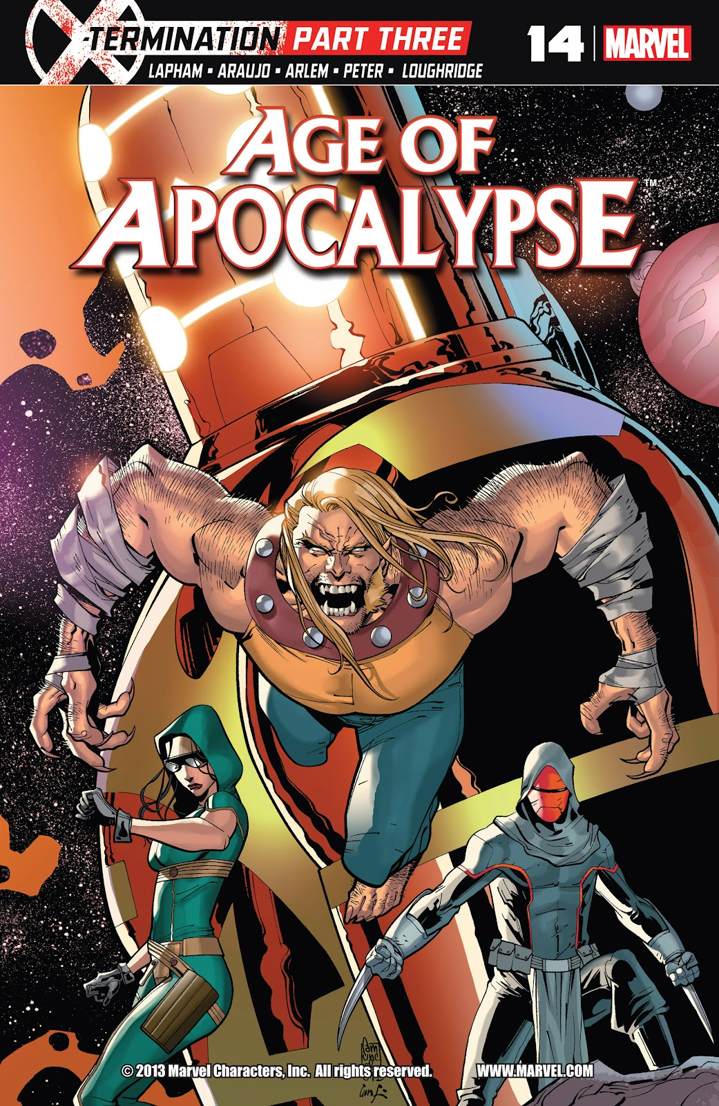 Age of Apocalypse (2012) issue 14 - Page 1