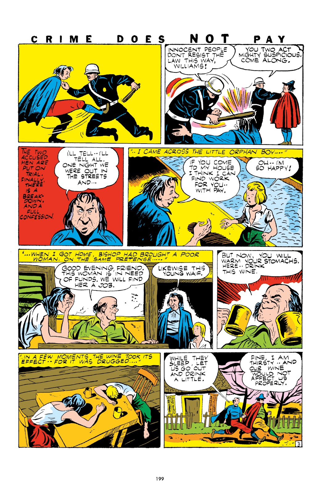 Read online Crime Does Not Pay Archives comic -  Issue # TPB 1 (Part 3) - 2