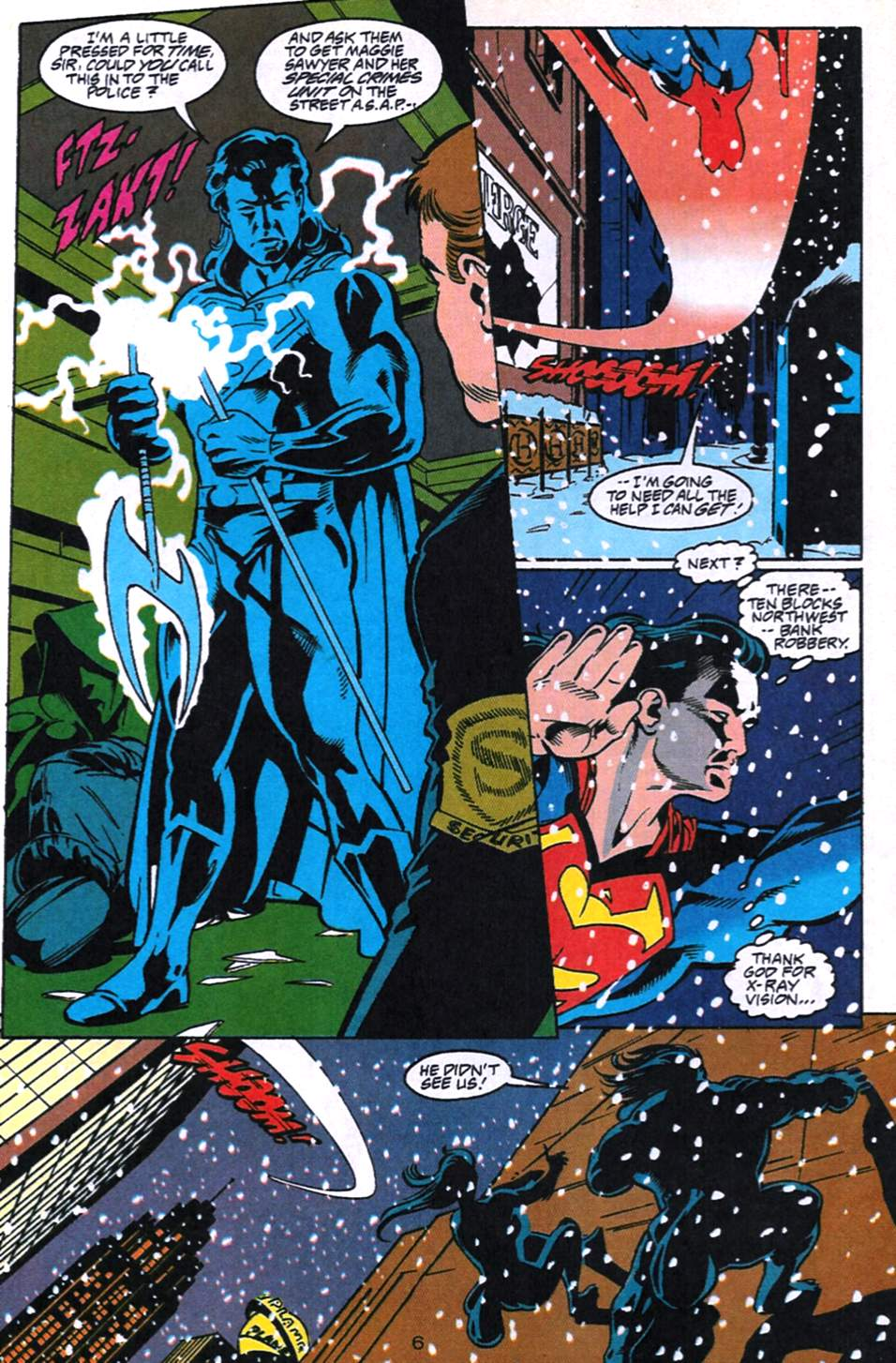 Read online Adventures of Superman (1987) comic -  Issue #520 - 7