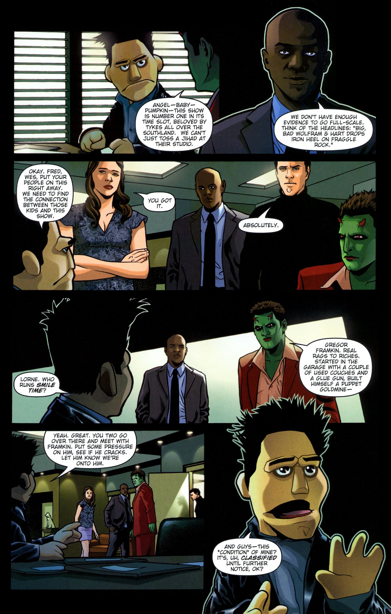 Read online Angel: Smile Time comic -  Issue #2 - 8