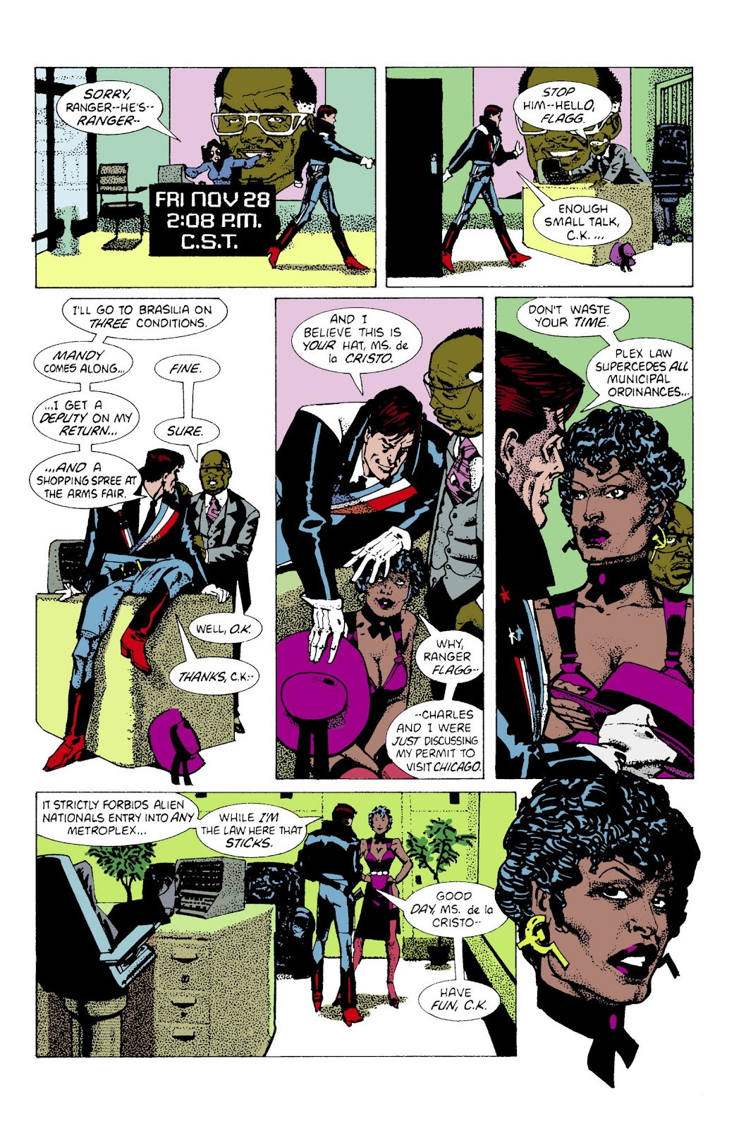 American Flagg! issue Definitive Collection (Part 2) - Page 24