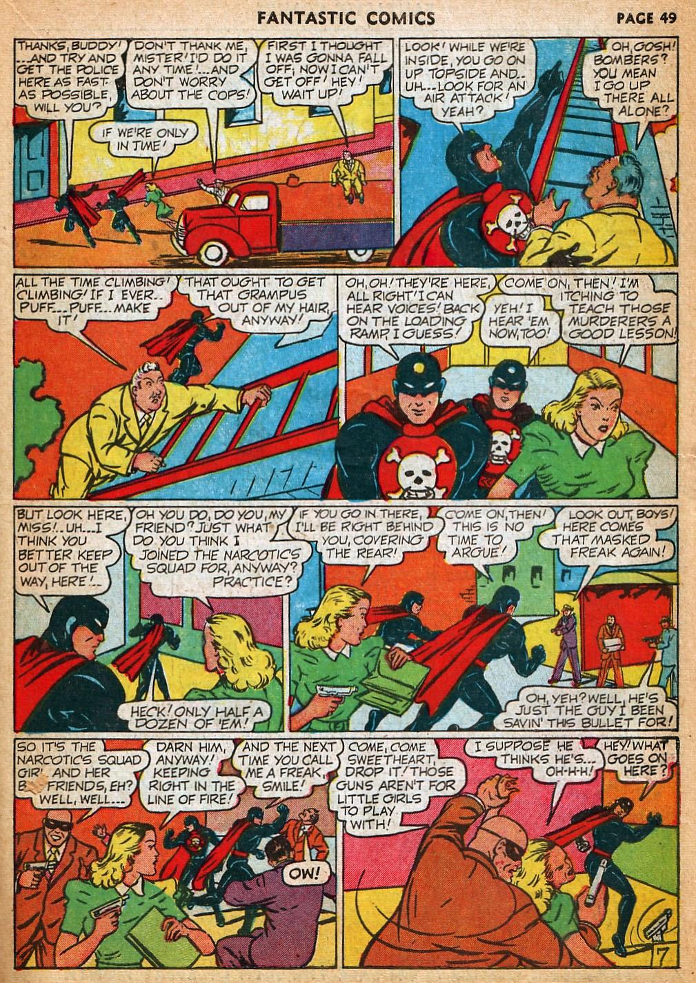 Read online Fantastic Comics comic -  Issue #22 - 50