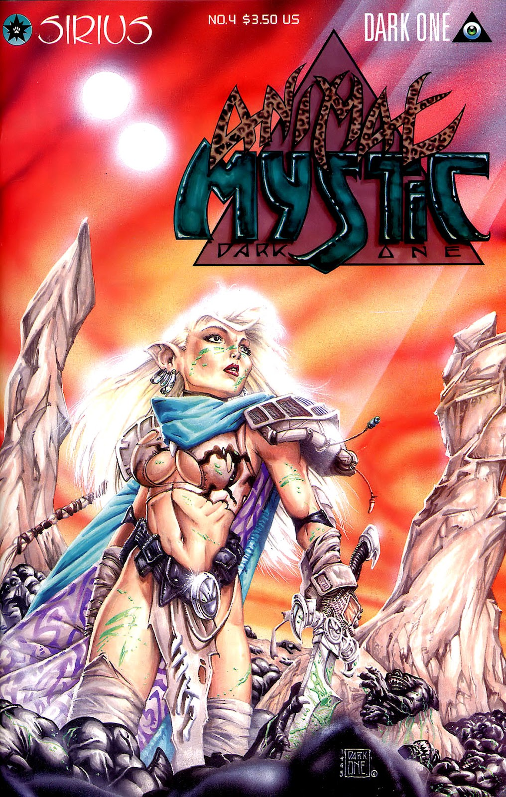 Read online Animal Mystic comic -  Issue #4 - 1