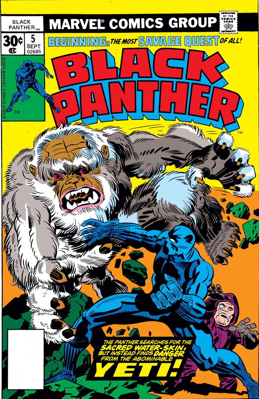Black Panther (1977) 5 Page 1