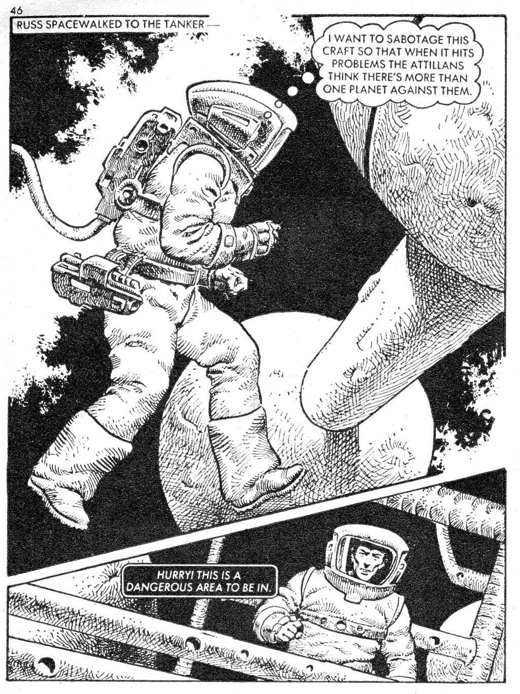 Starblazer issue 87 - Page 46