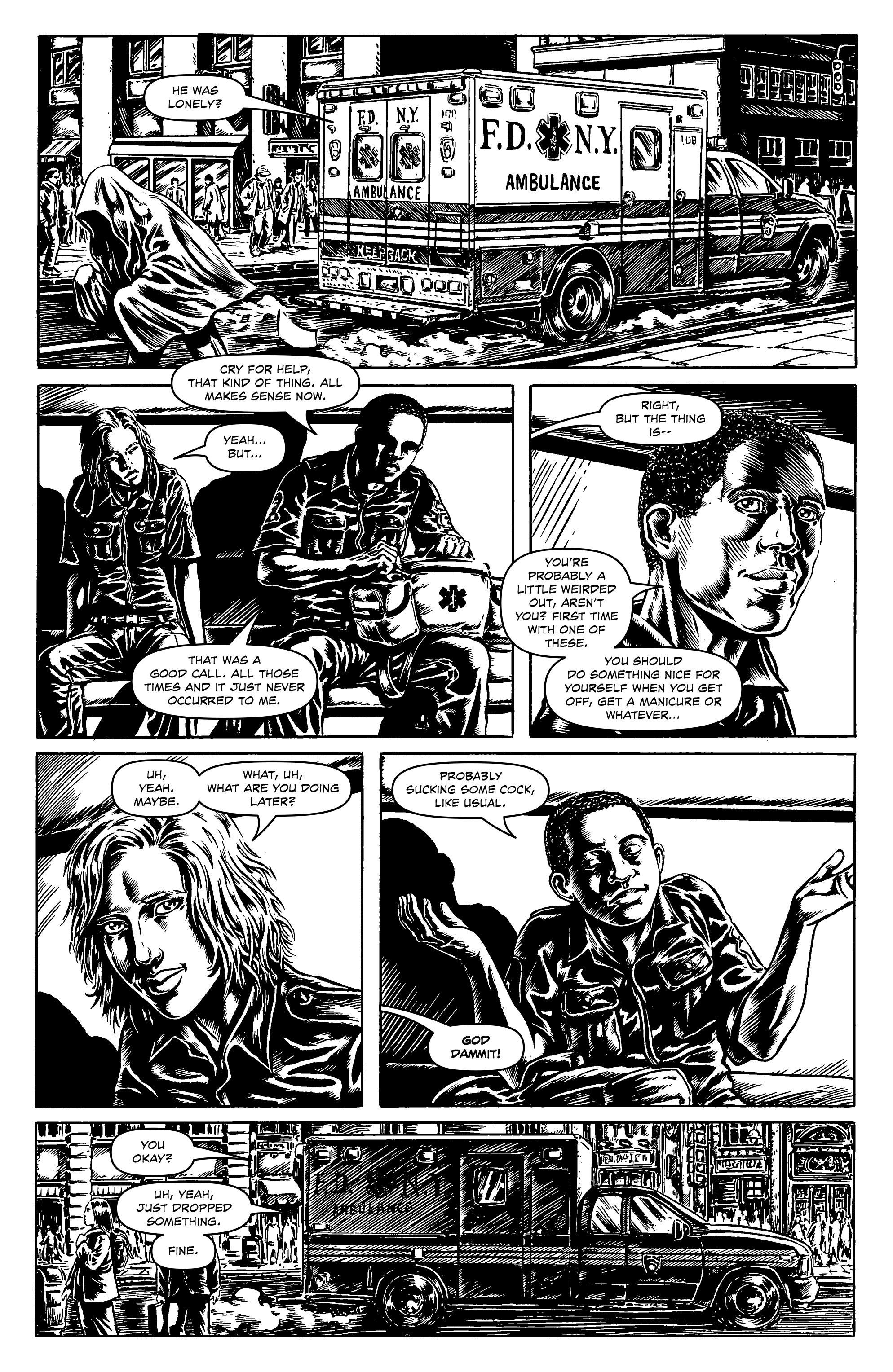 Read online Alan Moore's Cinema Purgatorio comic -  Issue #1 - 21
