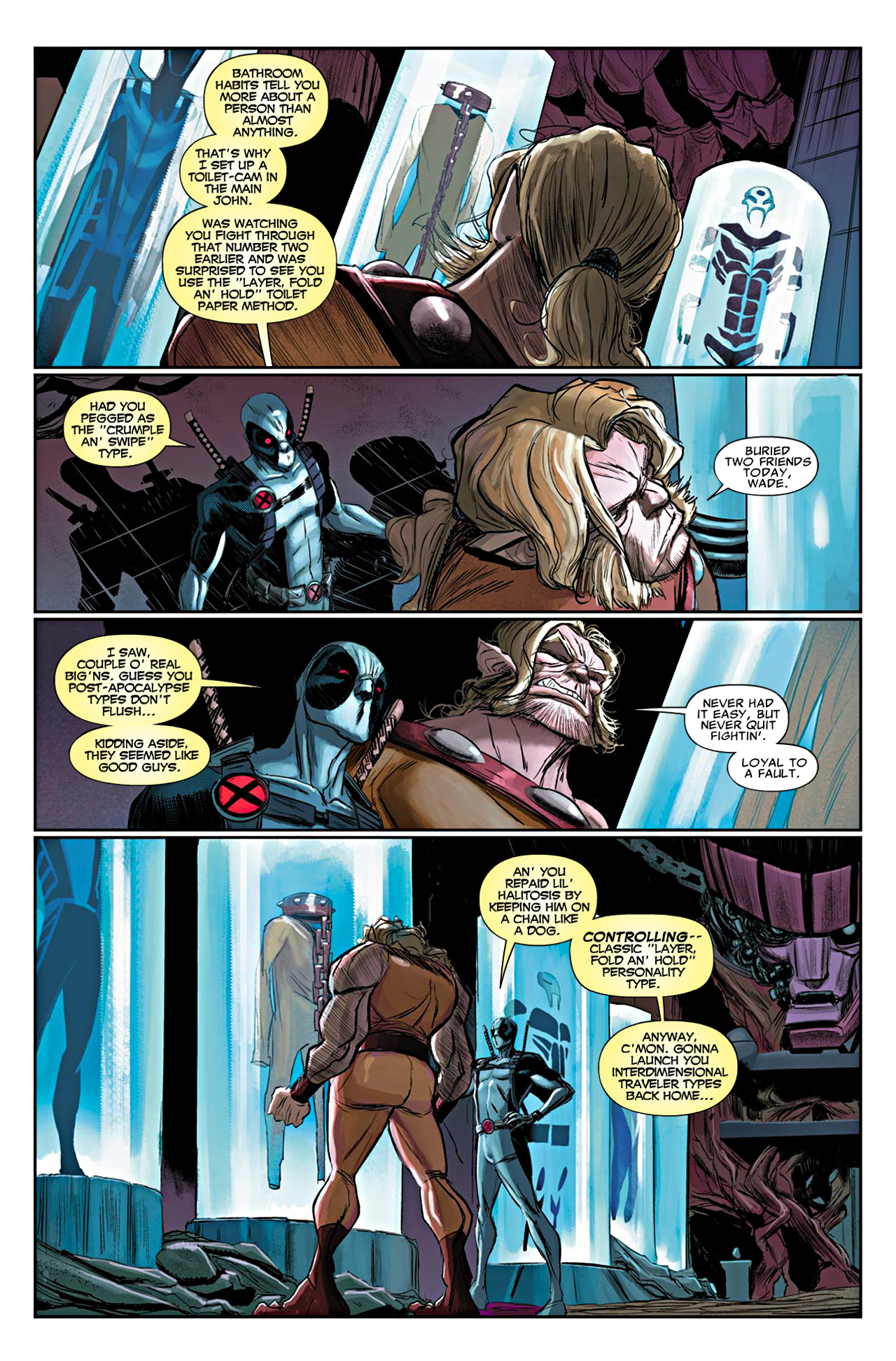 Read online Uncanny X-Force (2010) comic -  Issue #19 - 8
