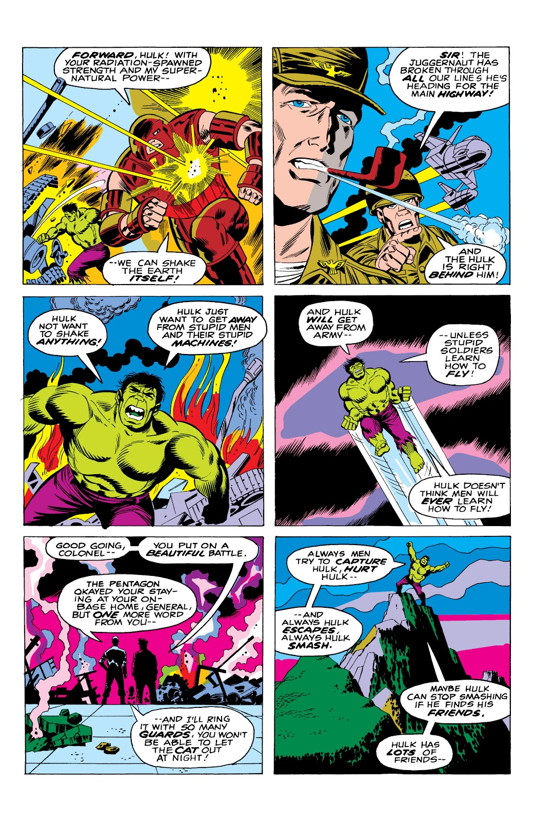 Read online Marvel Masterworks: The Incredible Hulk comic -  Issue # TPB 10 (Part 1) - 41