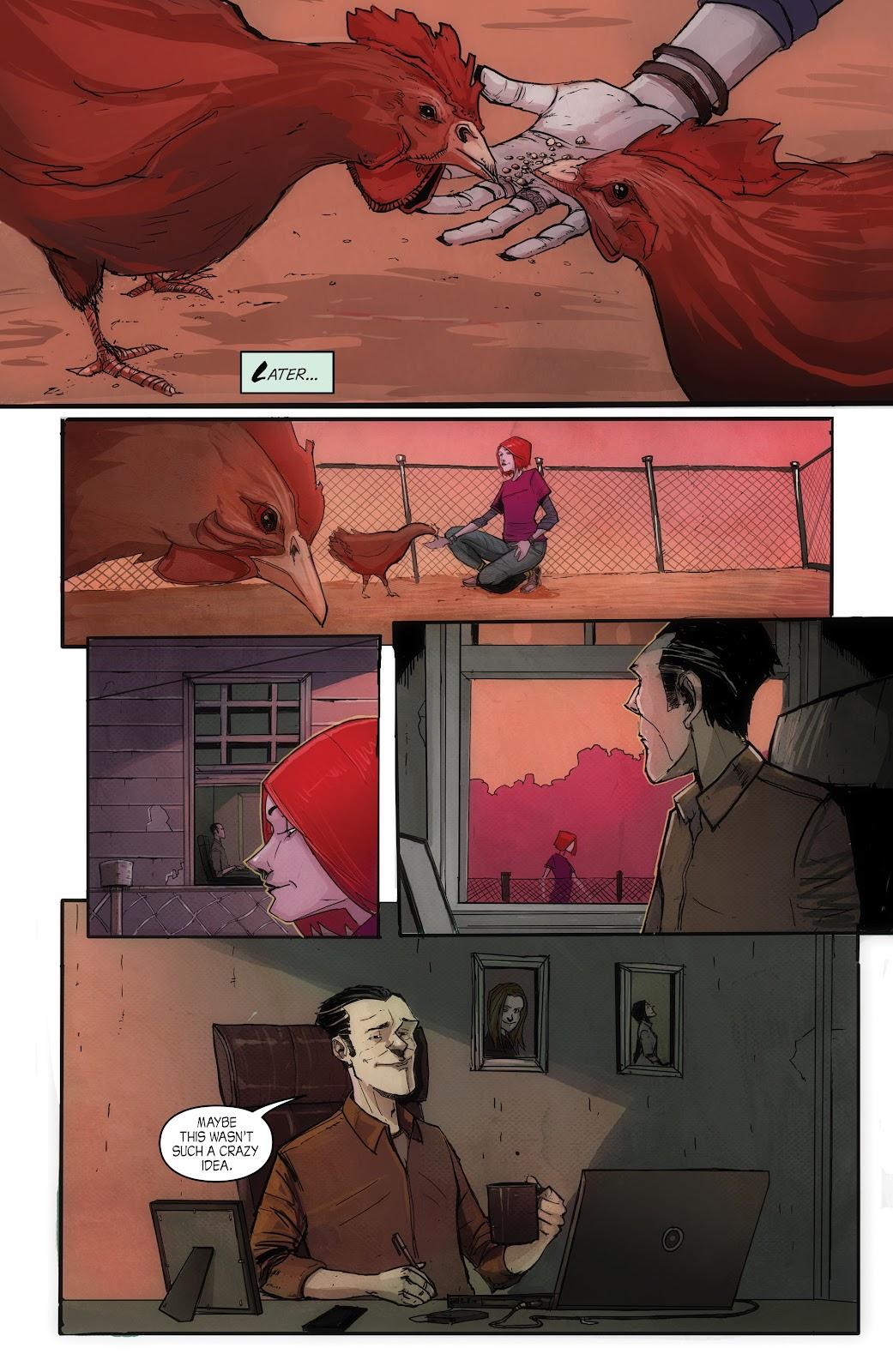 Read online John Carpenter Presents Storm Kids: Monica Bleue: A Werewolf Story comic -  Issue #1 - 16
