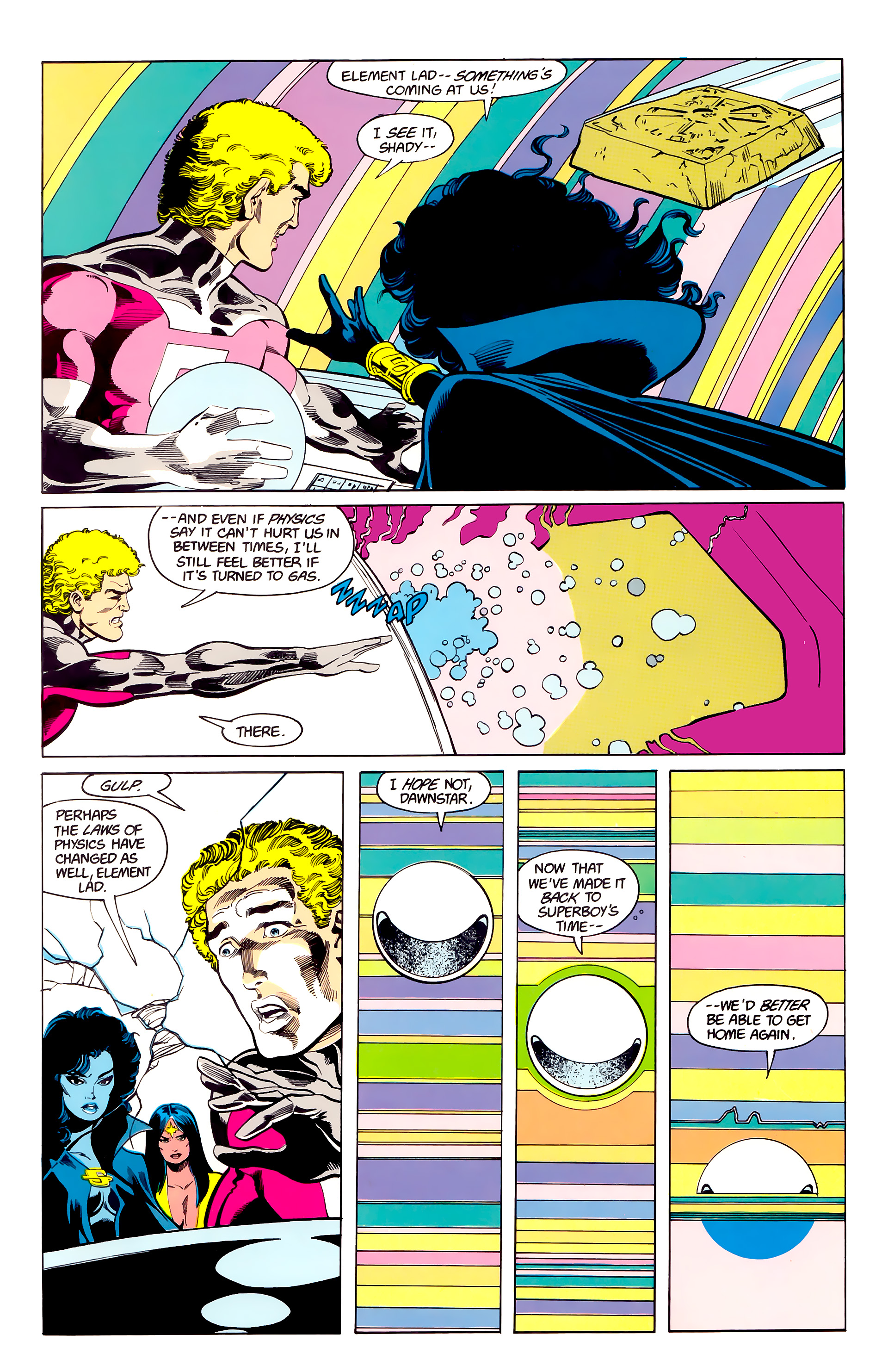 Legion of Super-Heroes (1984) 23 Page 18