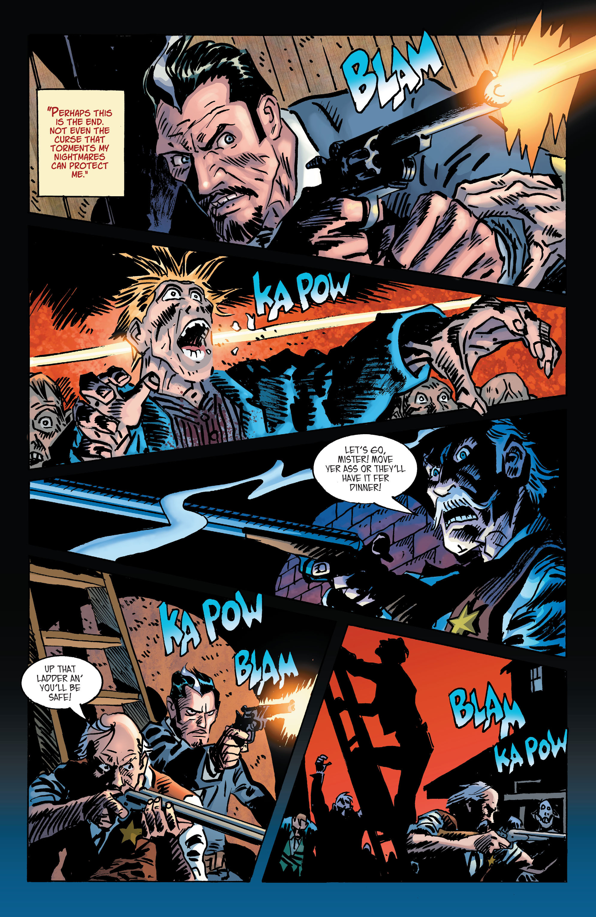 Read online All-Star Western (2011) comic -  Issue #2 - 23