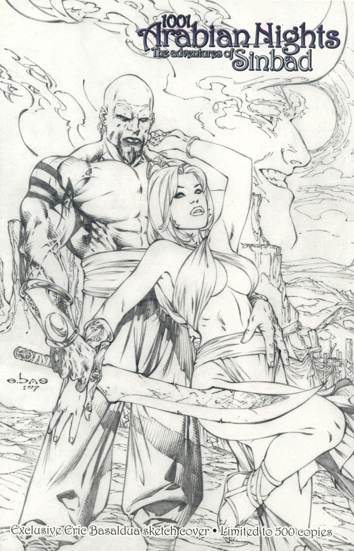 Read online 1001 Arabian Nights: The Adventures of Sinbad comic -  Issue #1 - 4