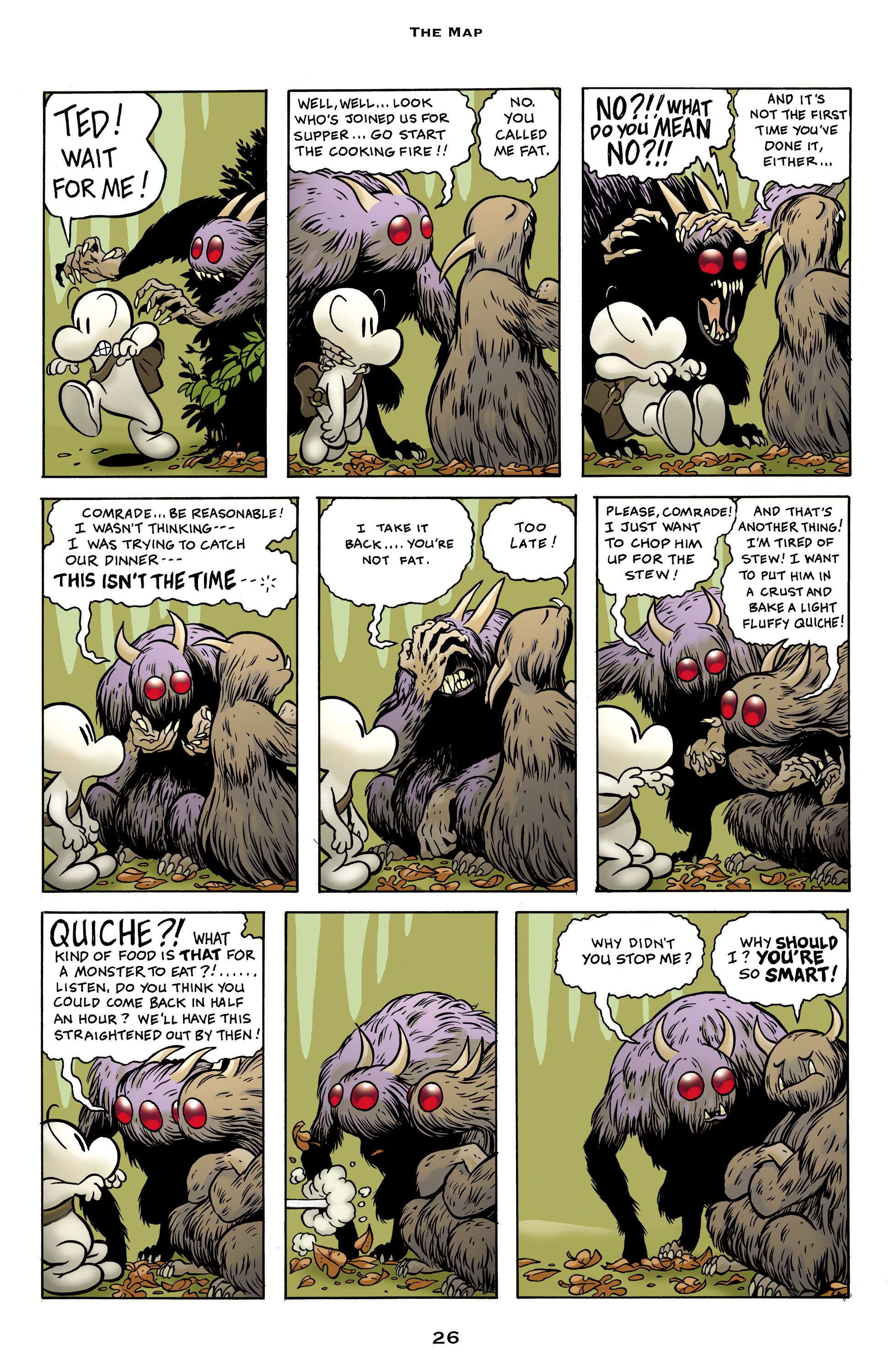 Read online Bone: Out From Boneville comic -  Issue # TPB - 26