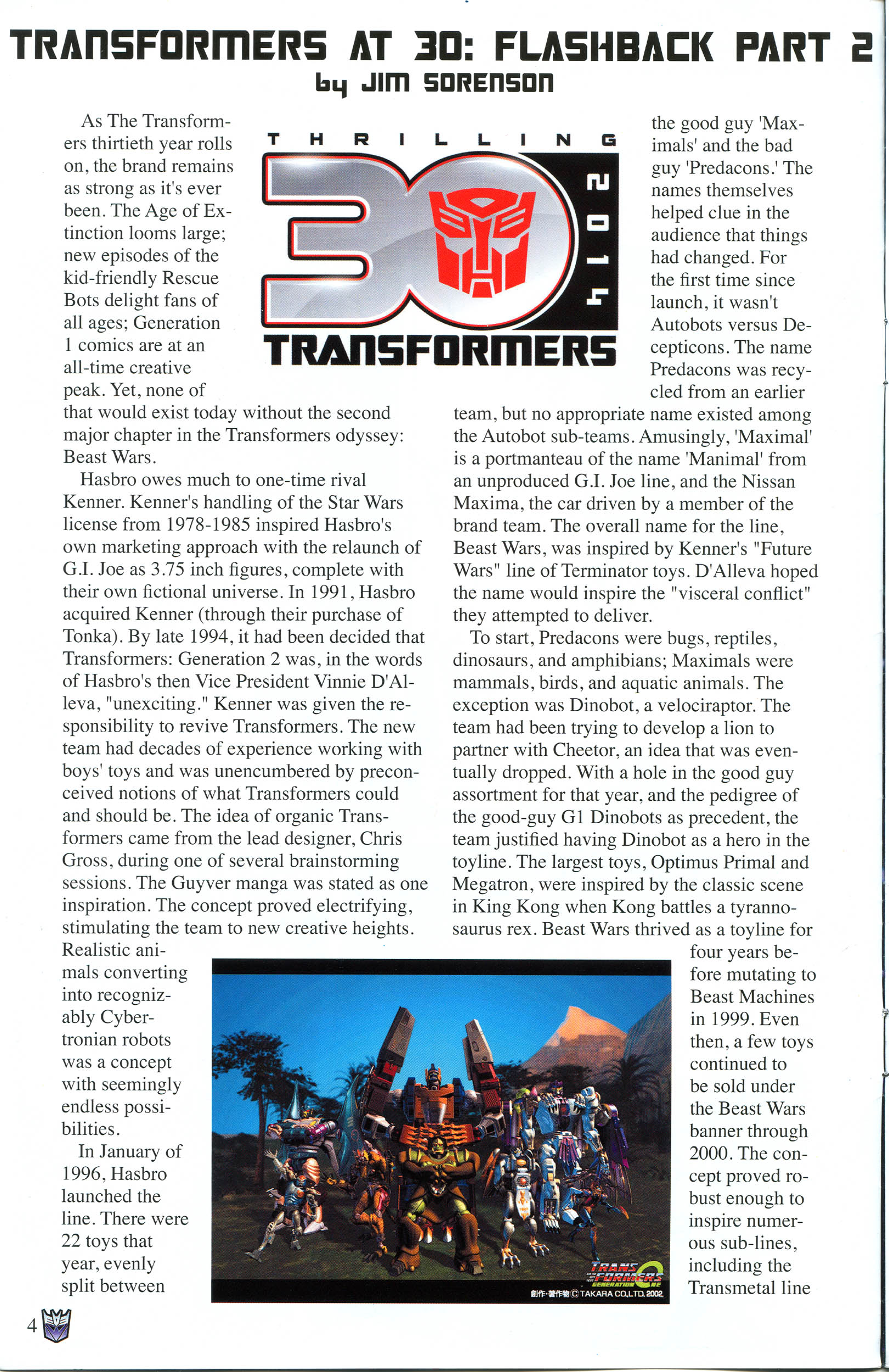 Read online Transformers: Collectors' Club comic -  Issue #56 - 4