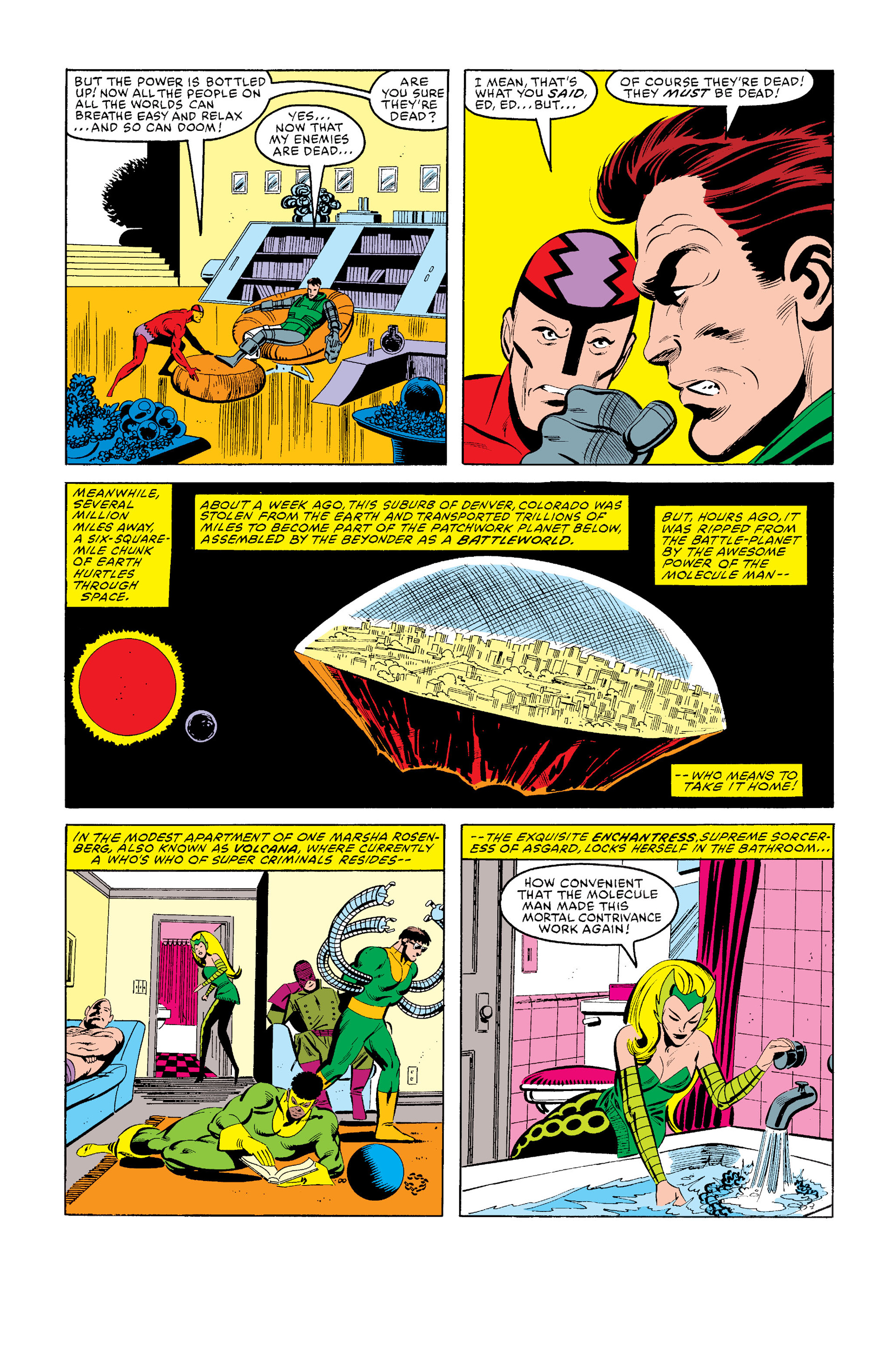 Read online Secret Wars (1985) comic -  Issue #12 - 5