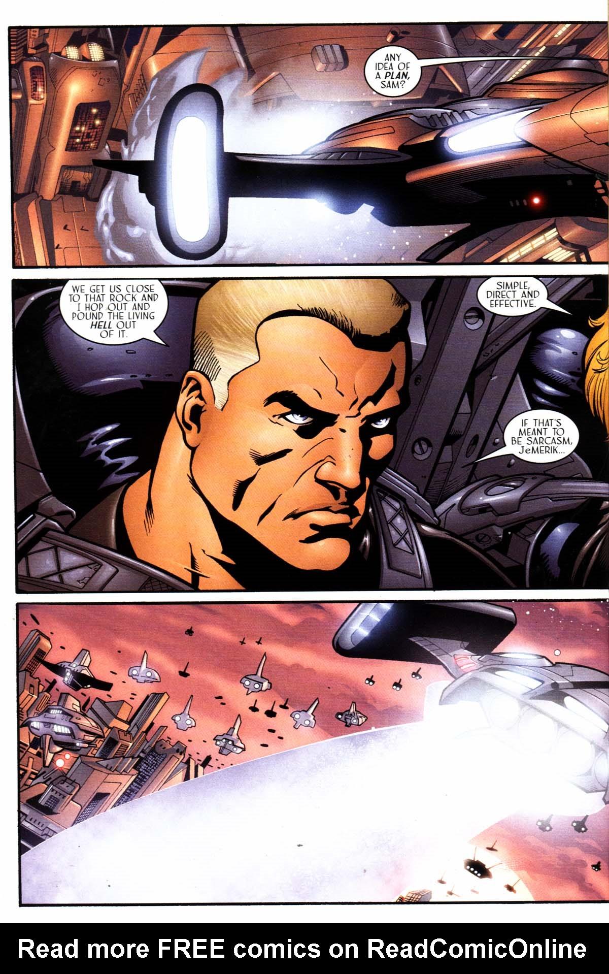 Read online Sigil (2000) comic -  Issue #23 - 14