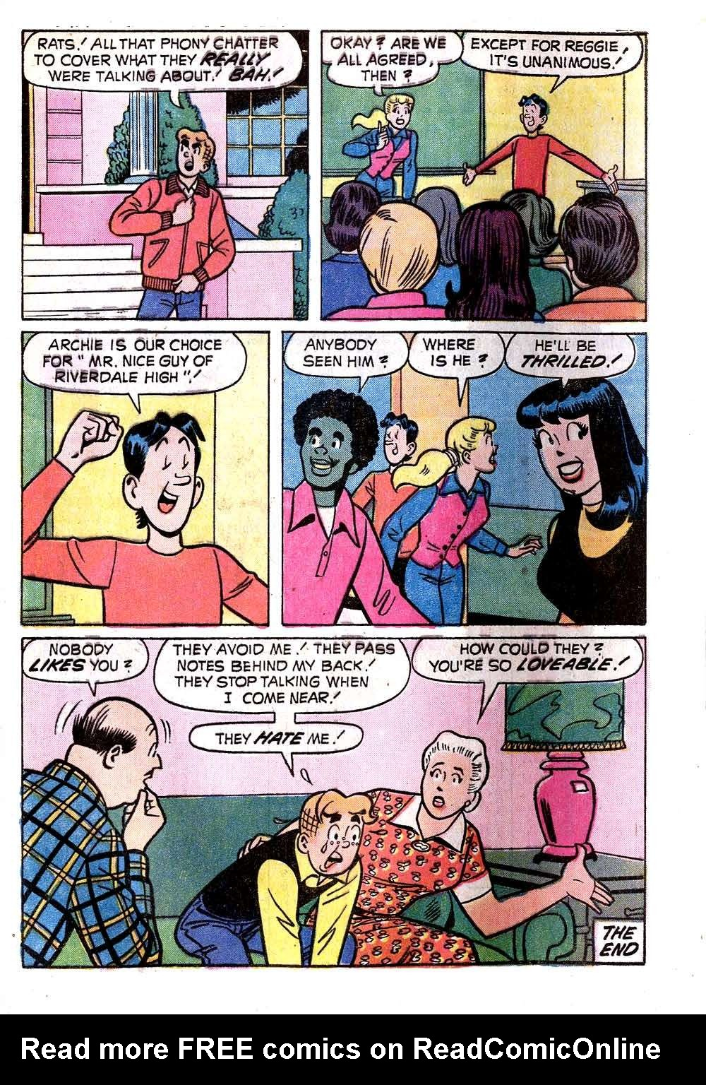Read online Archie (1960) comic -  Issue #236 - 33