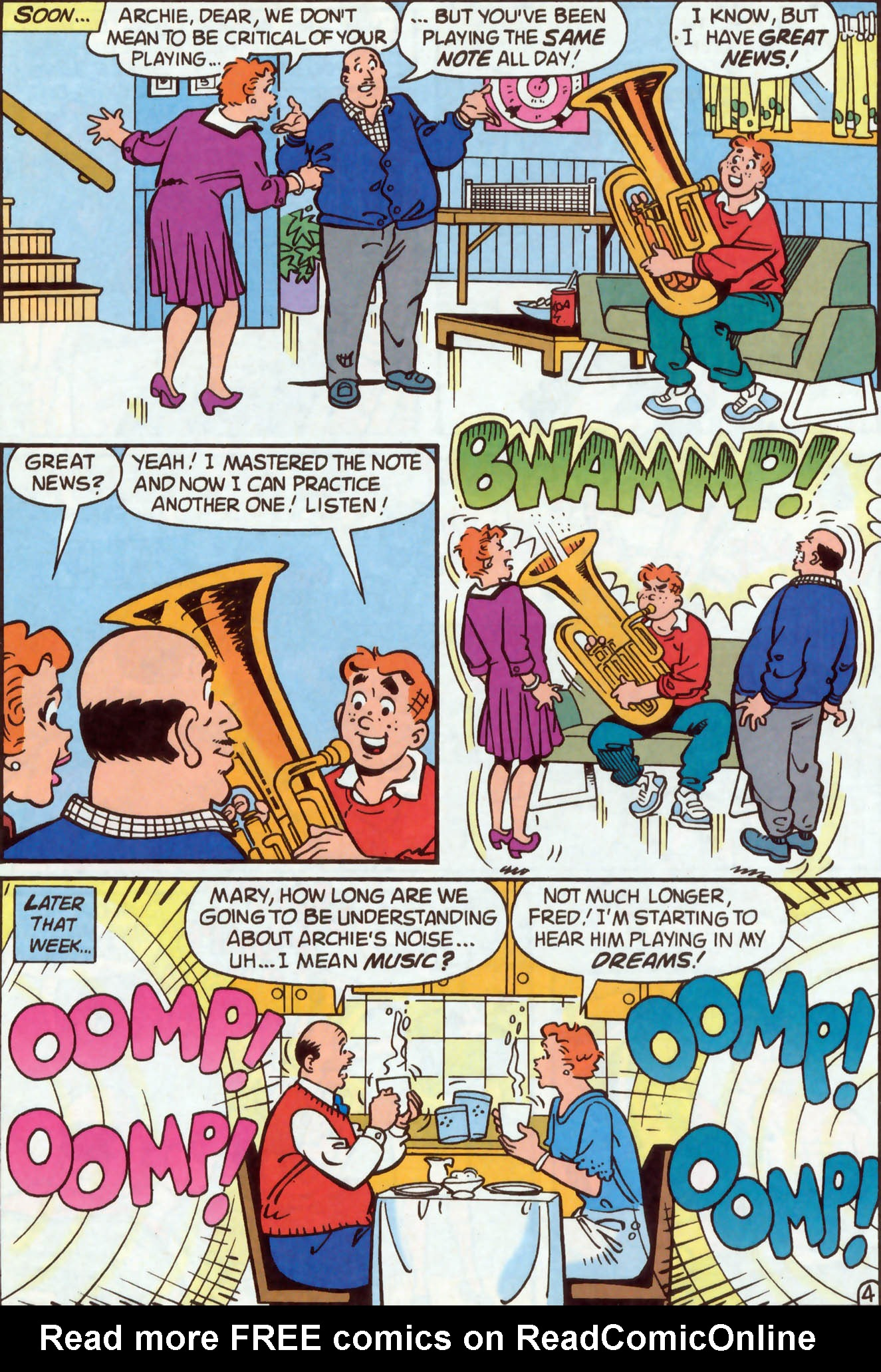 Read online Archie (1960) comic -  Issue #477 - 18