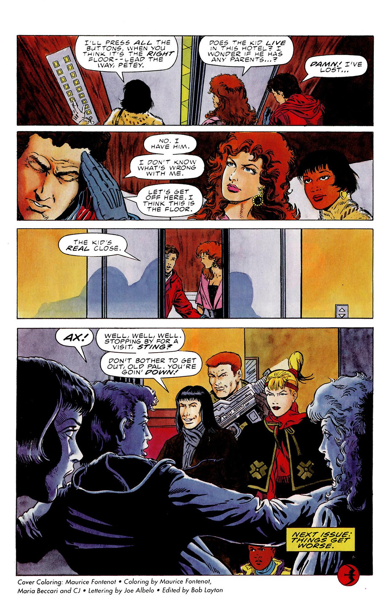 Read online Harbinger (1992) comic -  Issue #15 - 21