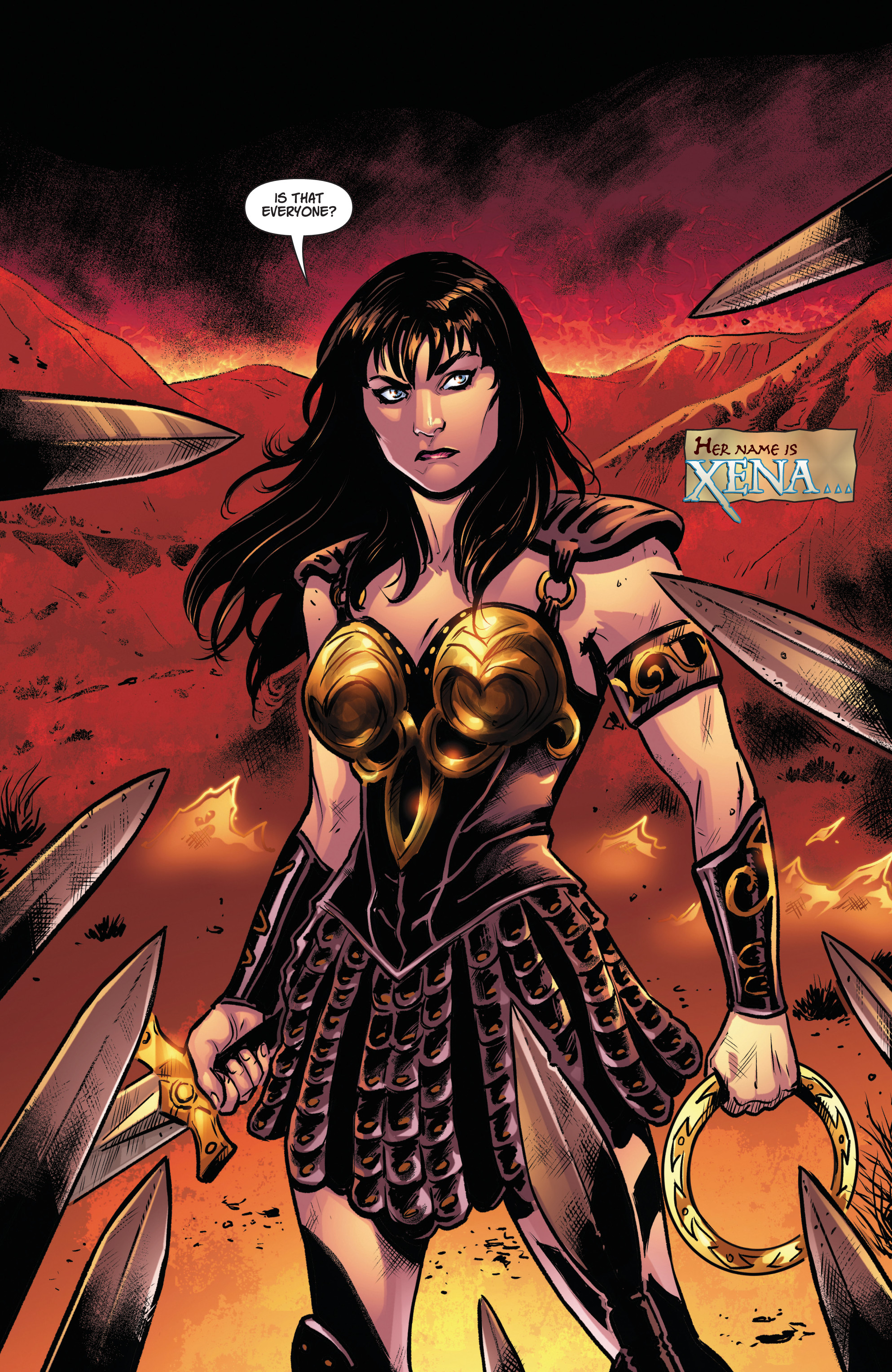 Read online Army Of Darkness/Xena: Forever…And A Day comic -  Issue #5 - 3