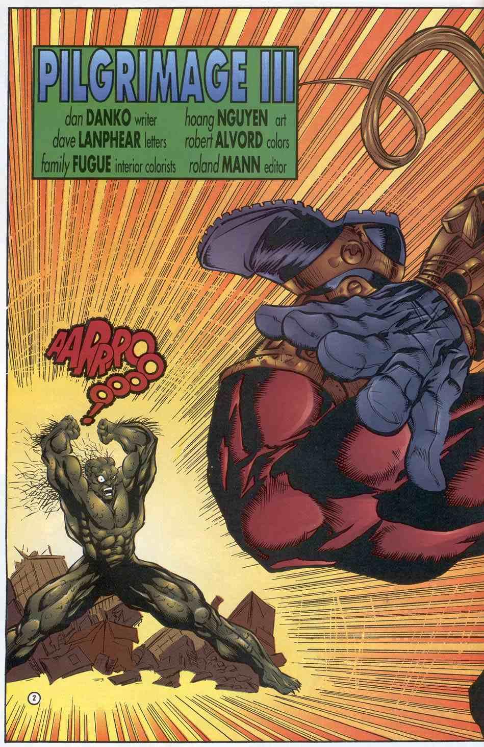 Read online Ultraverse Premiere comic -  Issue #3 - 16