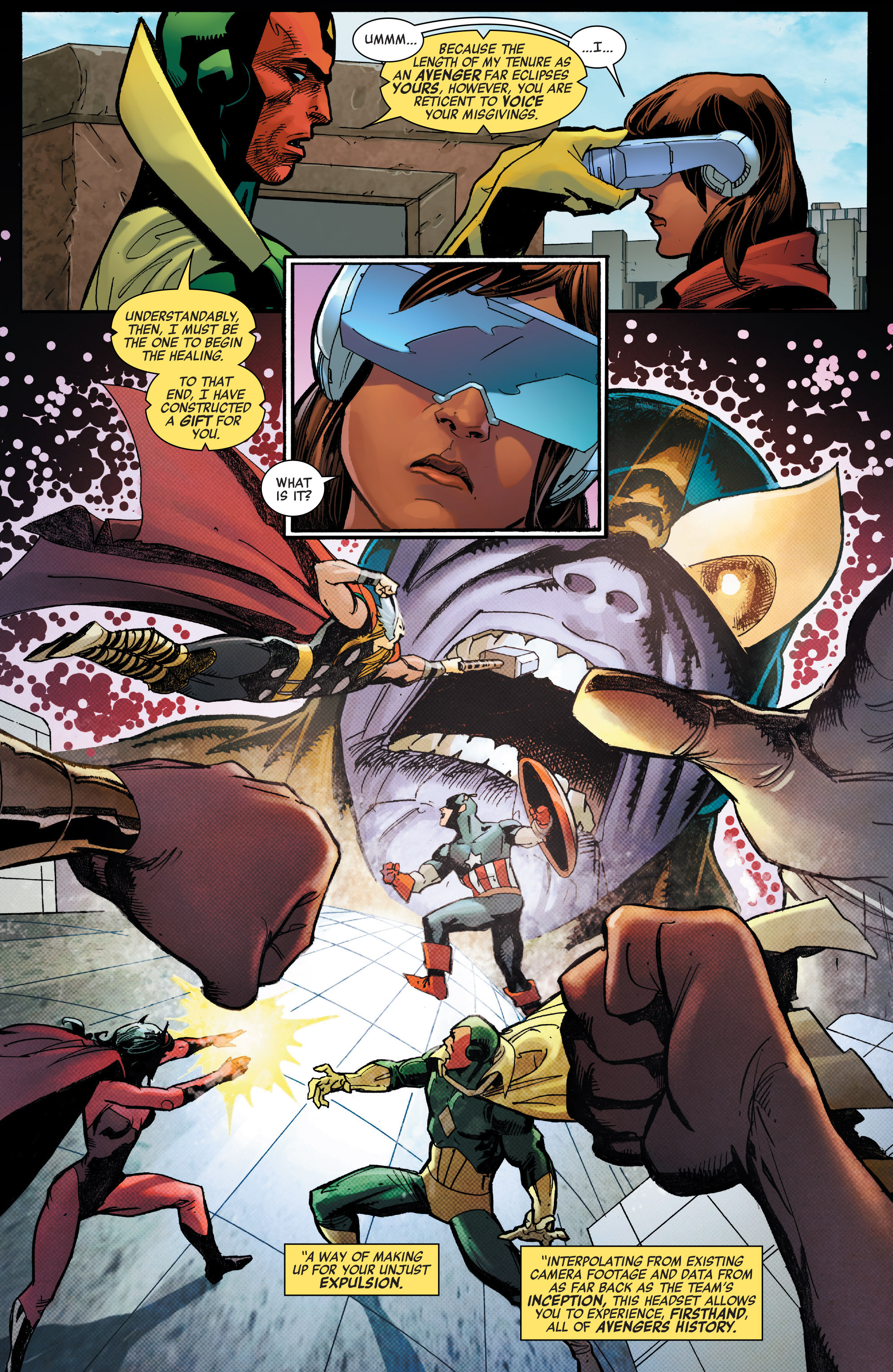 Read online All-New, All-Different Avengers comic -  Issue #7 - 7