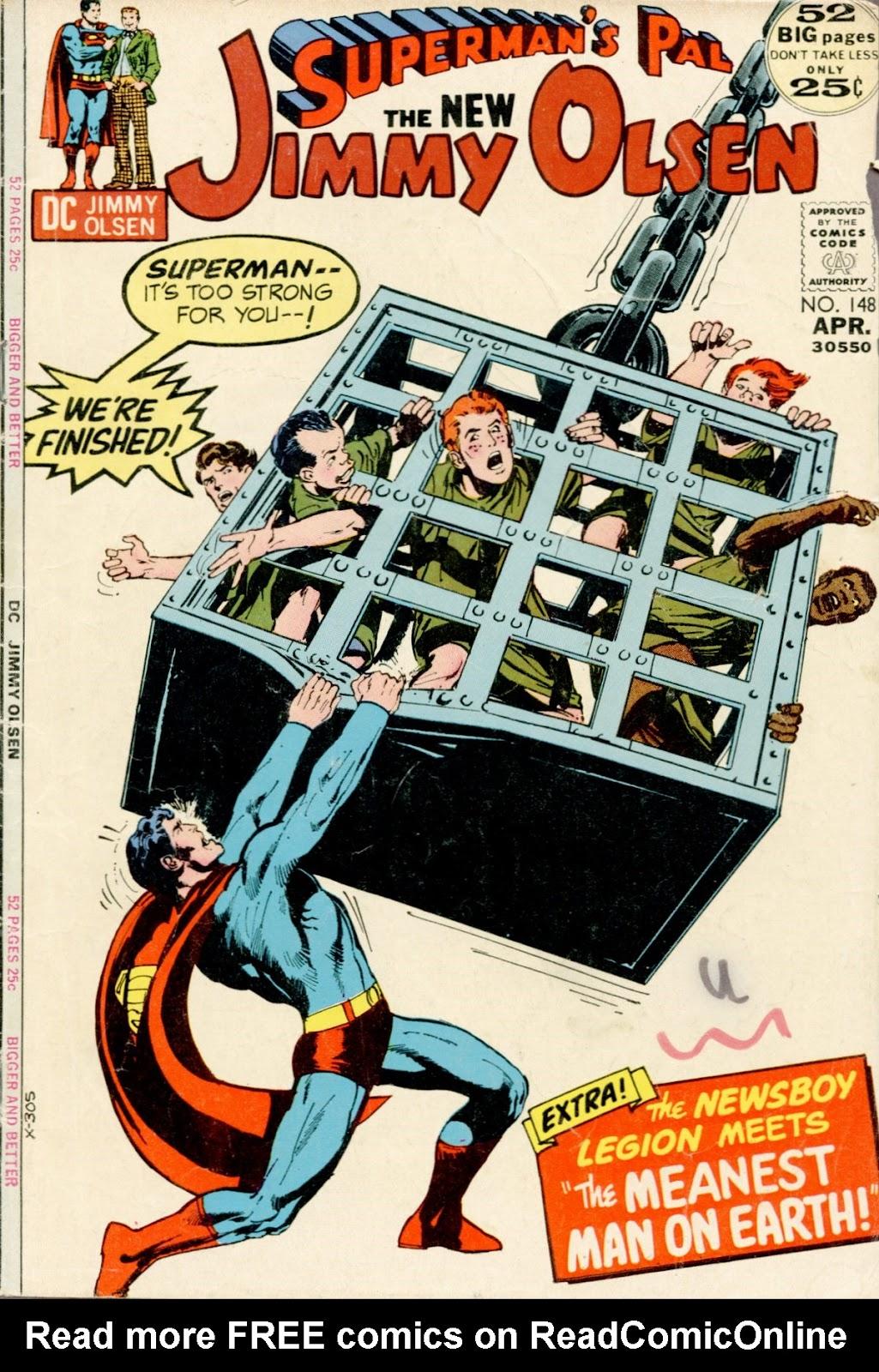 Supermans Pal Jimmy Olsen (1954) 148 Page 1
