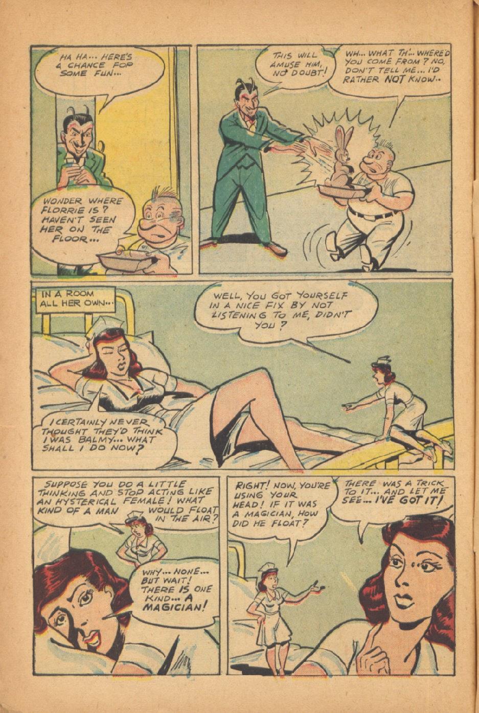Read online Super-Magician Comics comic -  Issue #47 - 48