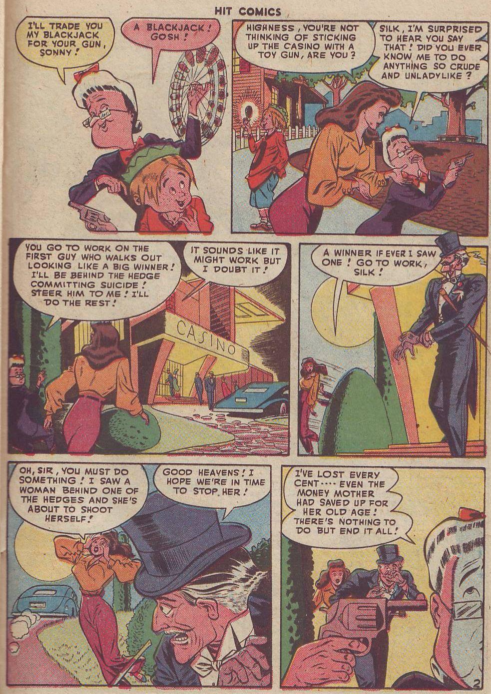 Read online Hit Comics comic -  Issue #51 - 33