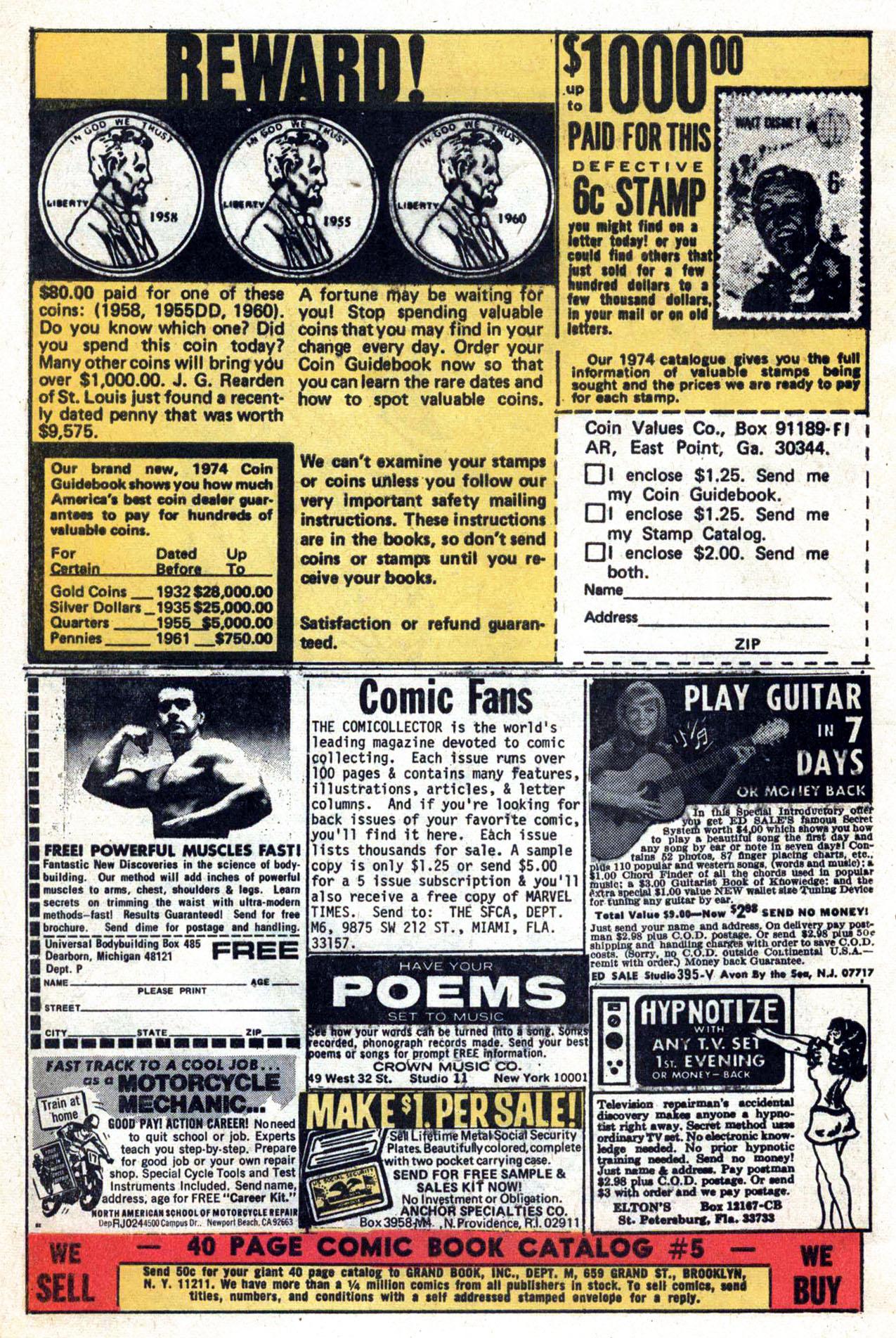 Read online Amazing Adventures (1970) comic -  Issue #24 - 5