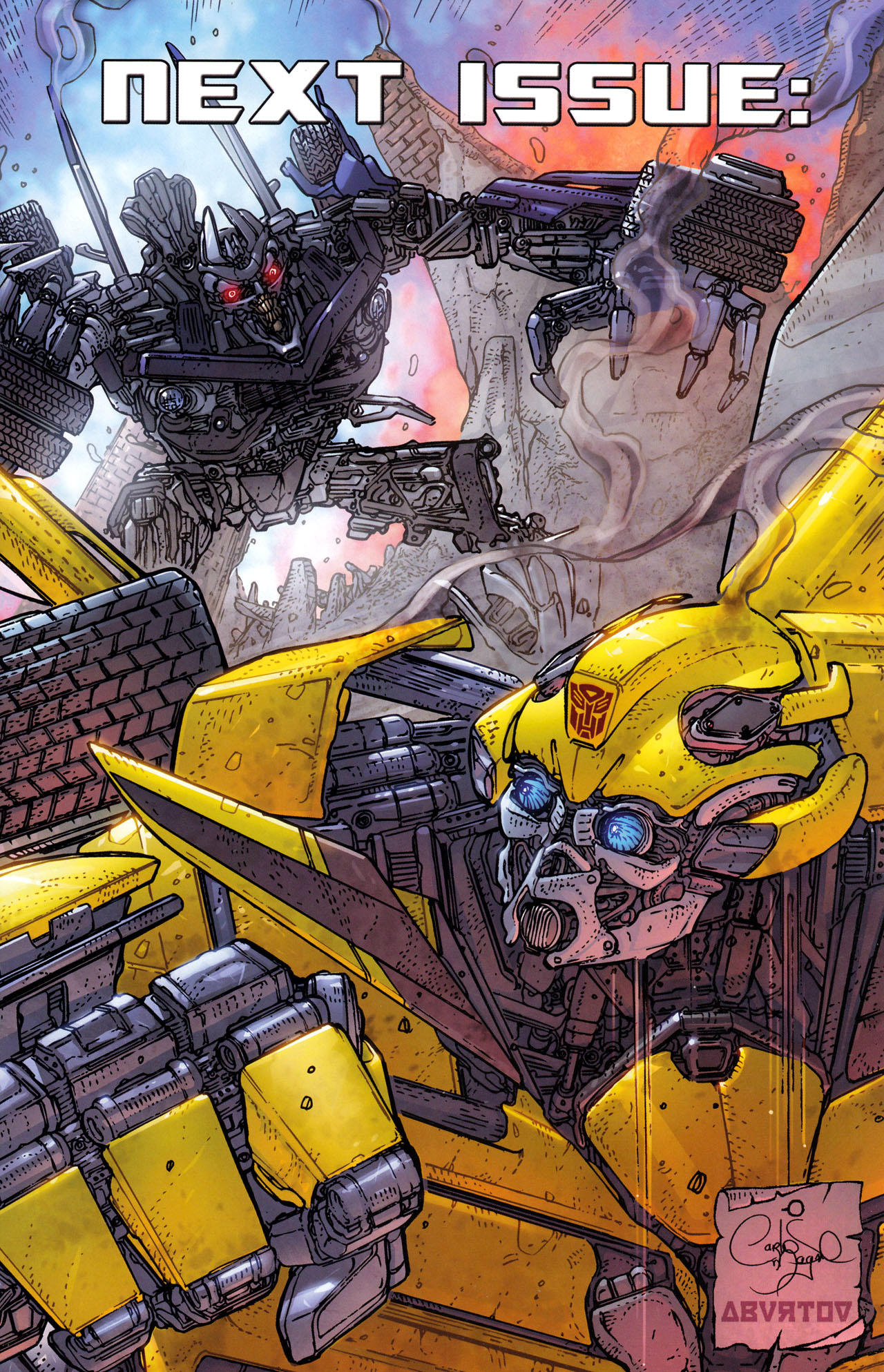 Read online Transformers: Dark of the Moon Rising Storm comic -  Issue #1 - 26