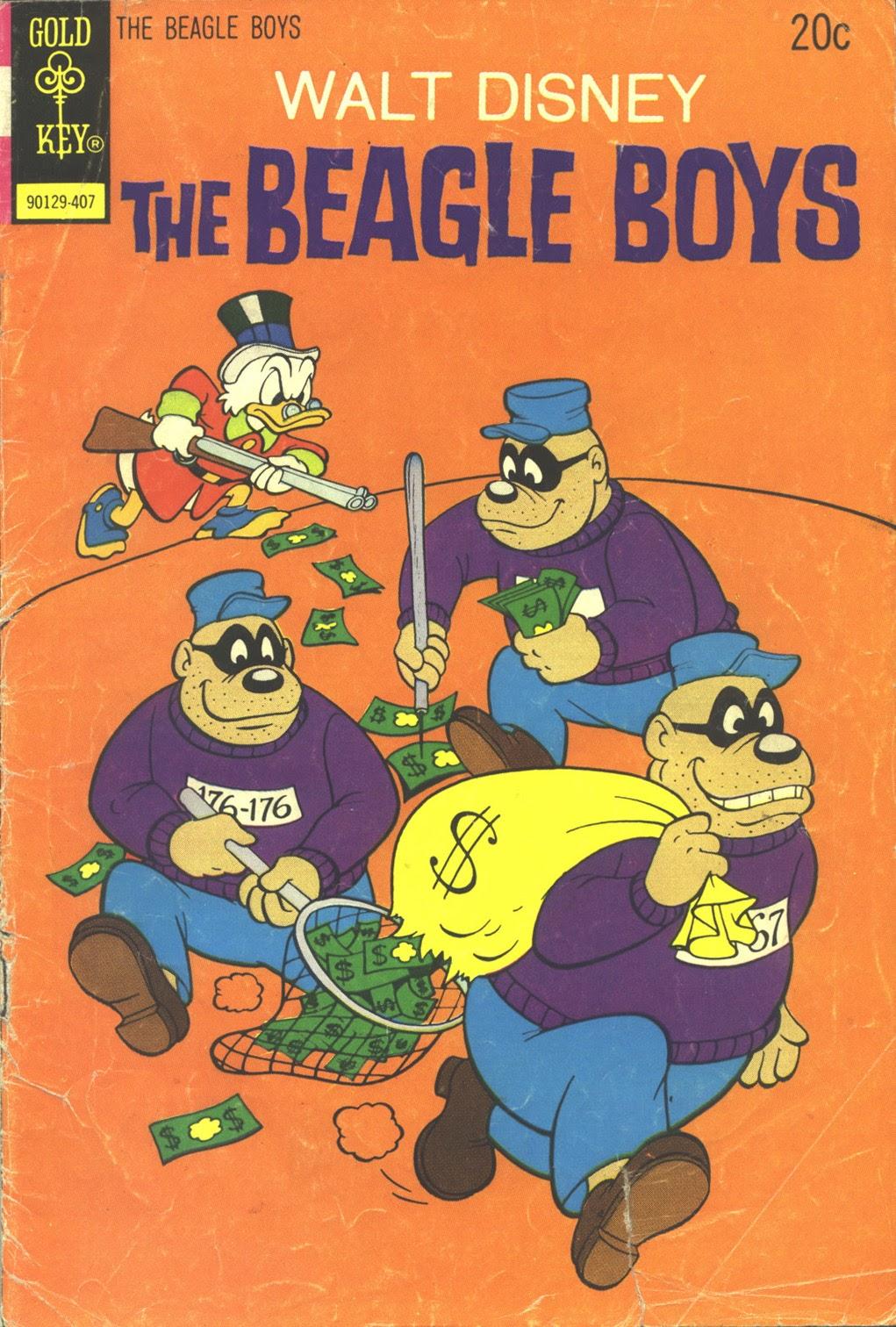 Walt Disney THE BEAGLE BOYS issue 21 - Page 1
