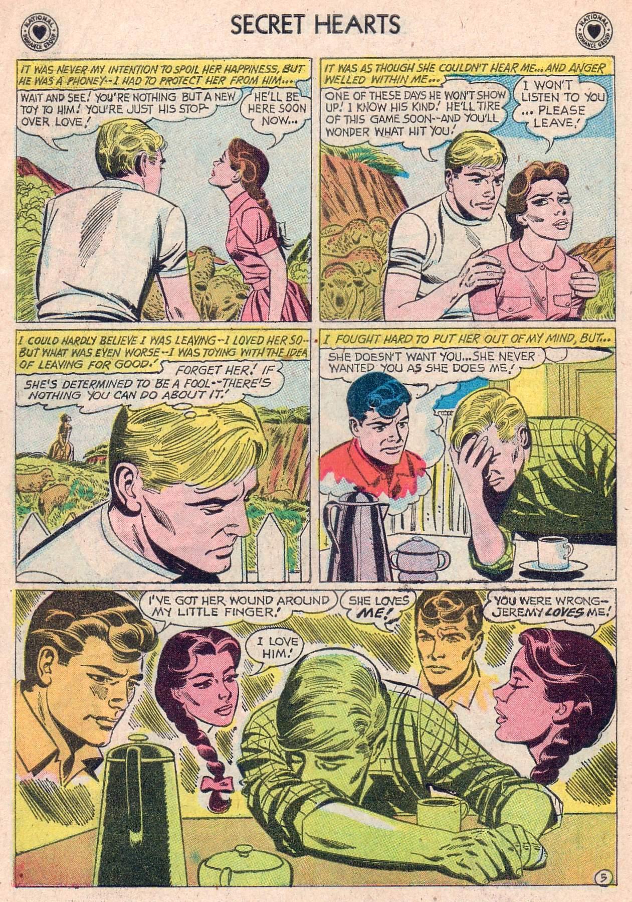 Read online Secret Hearts comic -  Issue #67 - 22