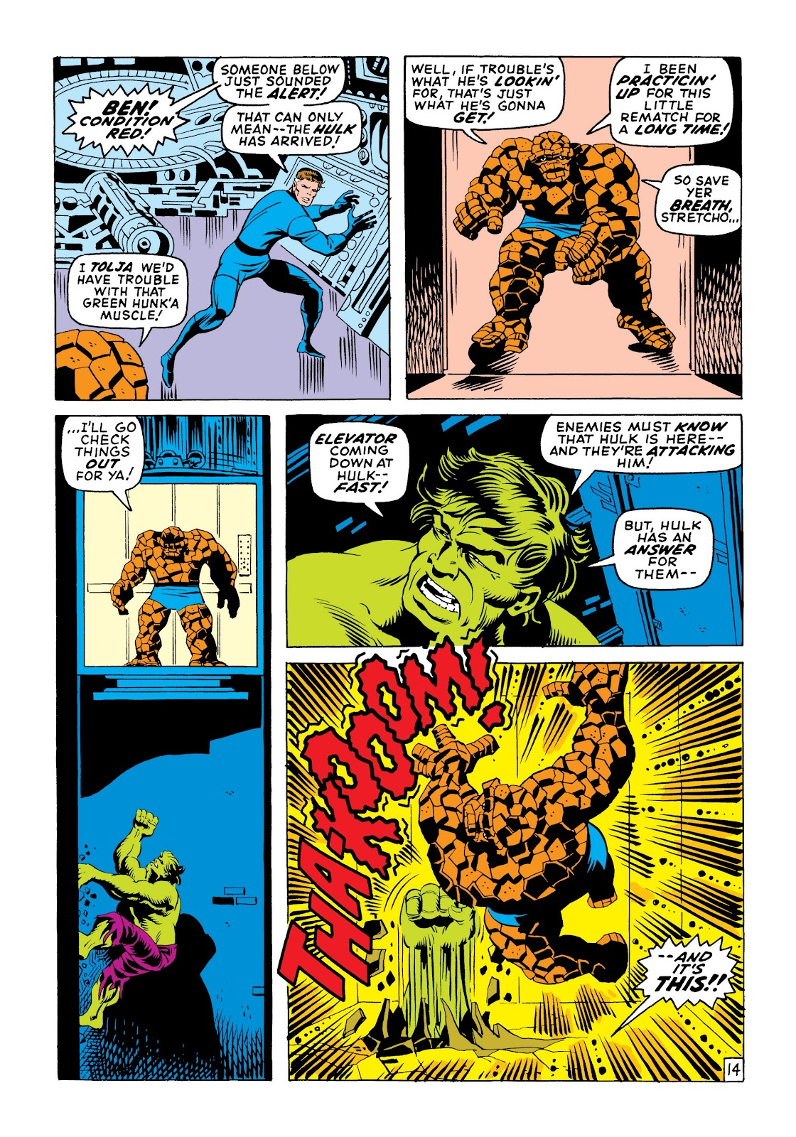 Read online Marvel Masterworks: The Incredible Hulk comic -  Issue # TPB 6 (Part 1) - 23