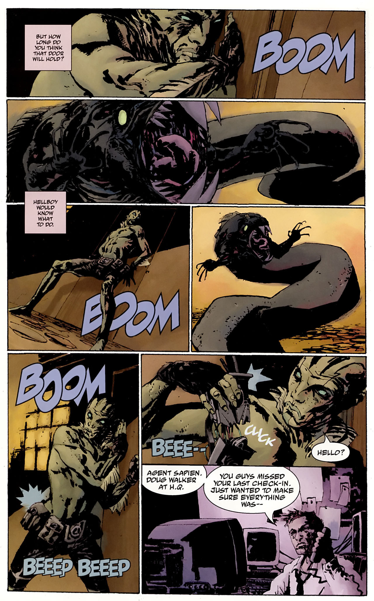 Read online Abe Sapien: The Drowning comic -  Issue #3 - 17