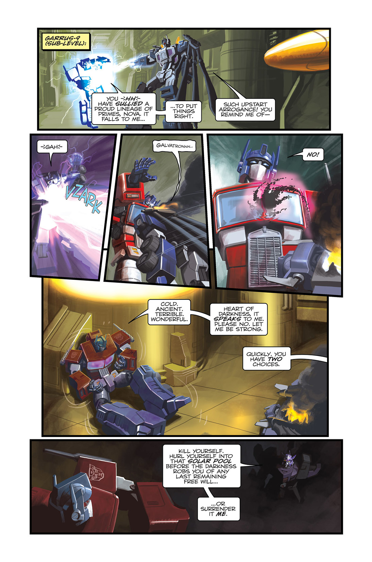 Read online Transformers Spotlight: Sideswipe comic -  Issue # Full - 20