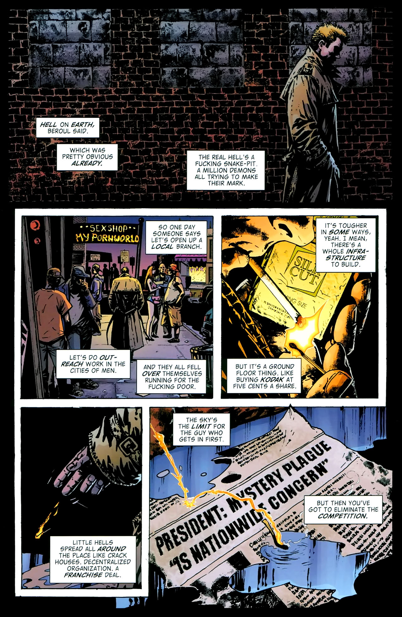 Read online John Constantine Hellblazer: All His Engines comic -  Issue # Full - 46